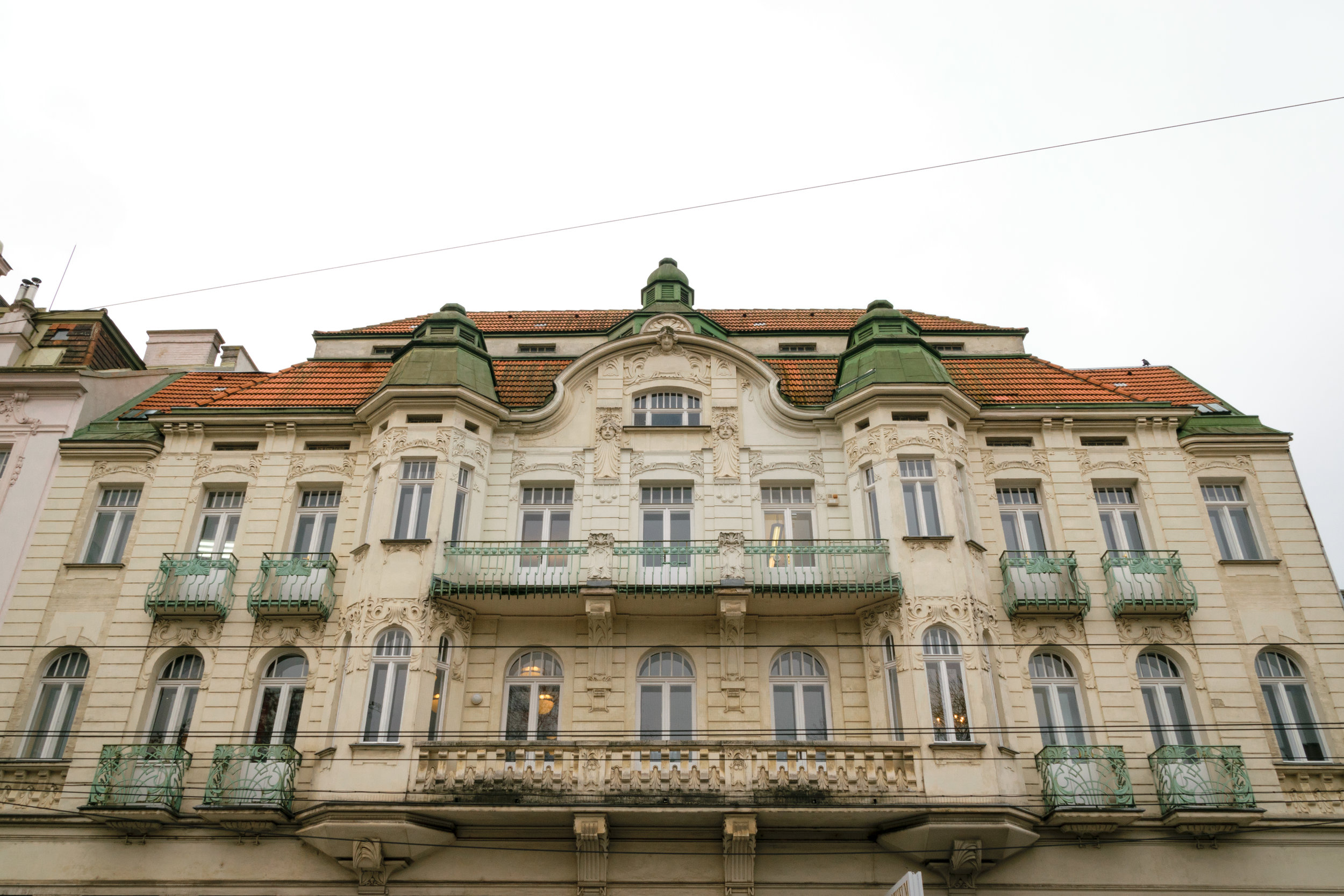 beautiful building in town