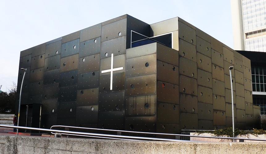 Donau City Kirche (photo credit: falter.at)