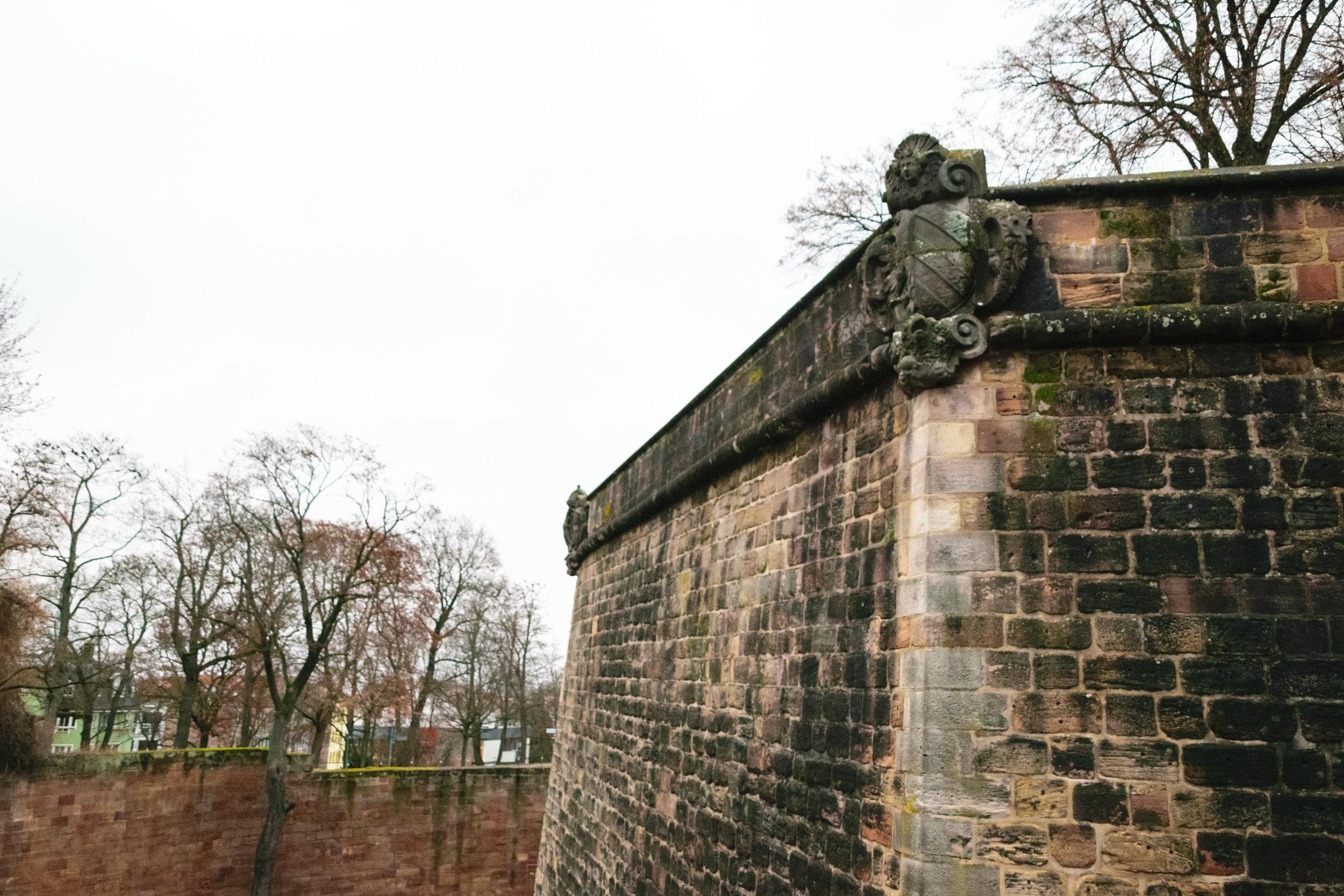 castle exterior walls