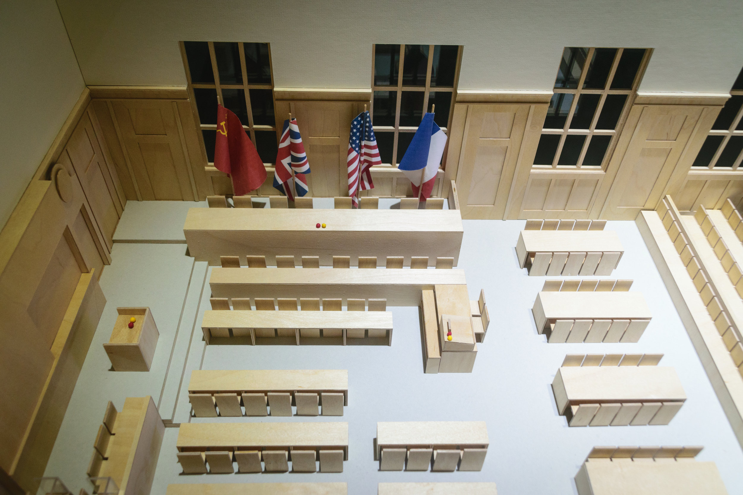 model of how the tribunal was conducted
