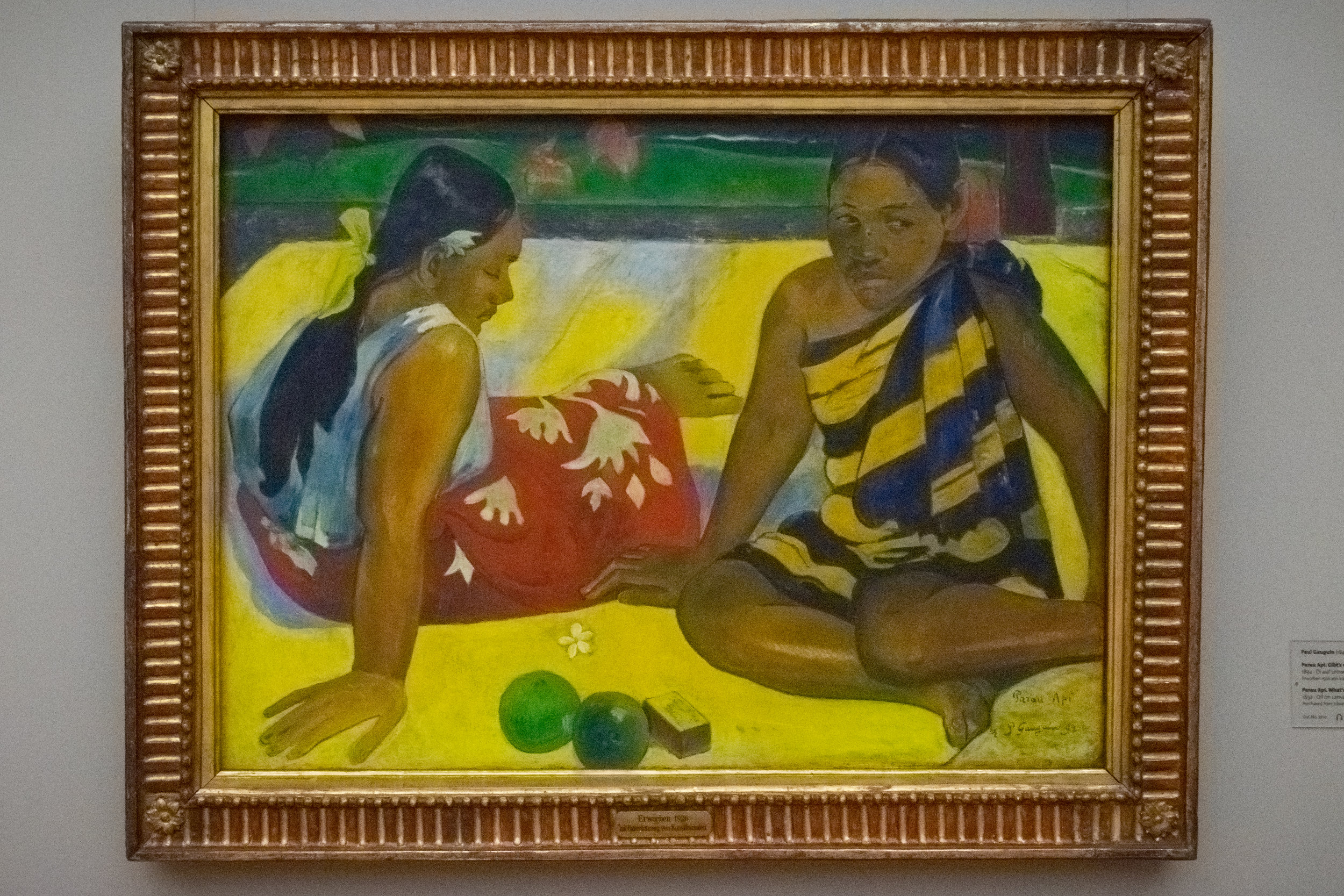 colorful & exotic Gauguin