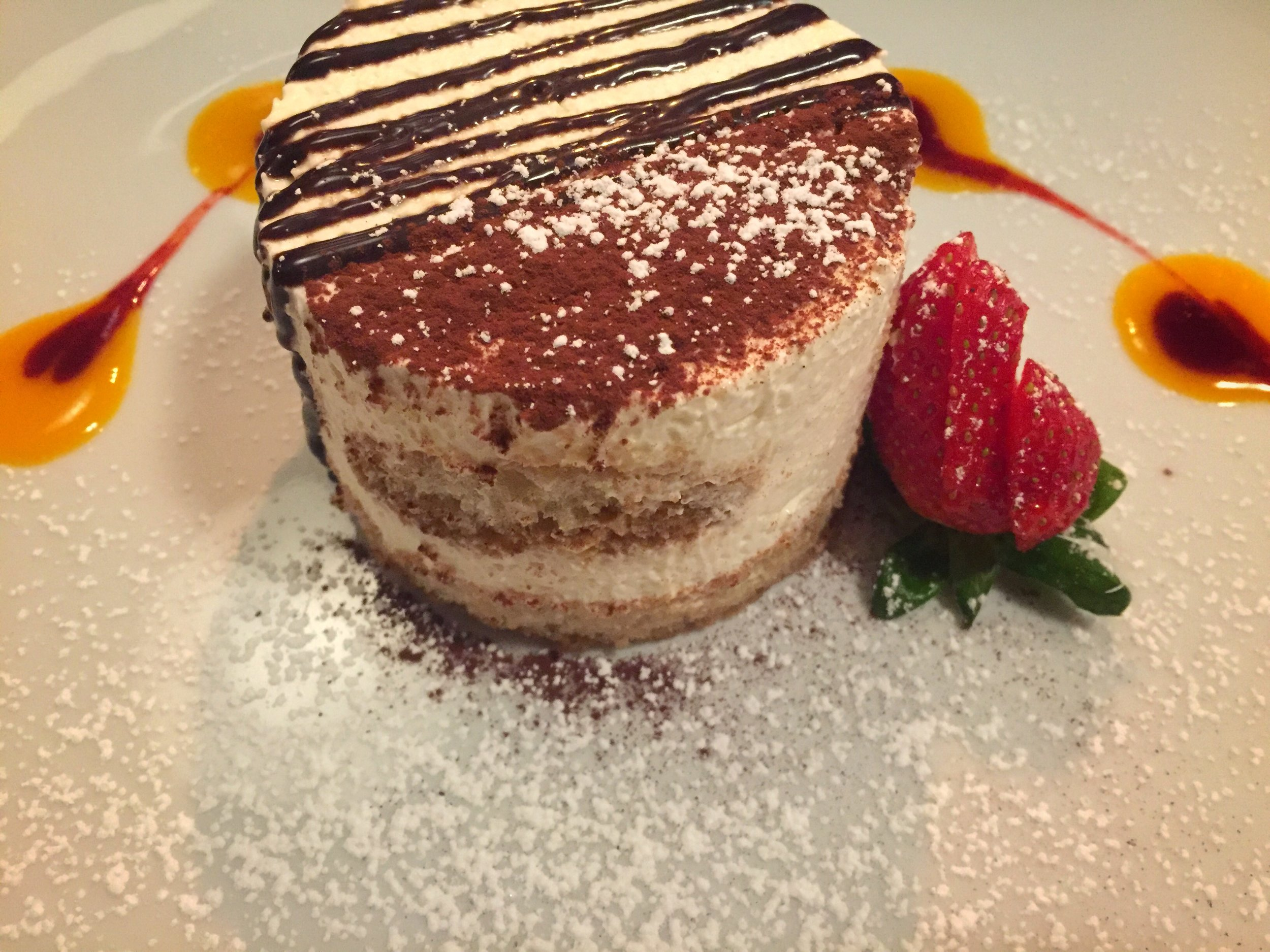 tiramisu at Louis Restaurant (Nuremberg)