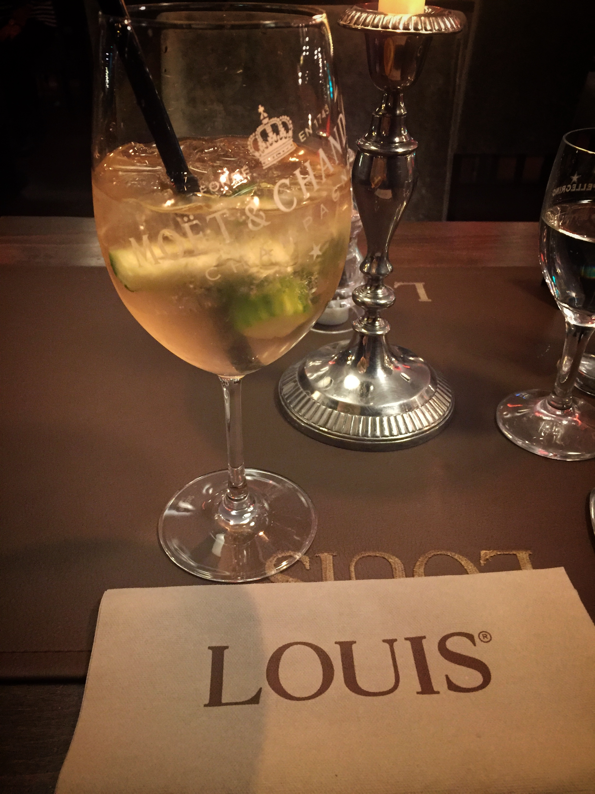 Christmas dinner at Louis Restaurant (Nuremberg)