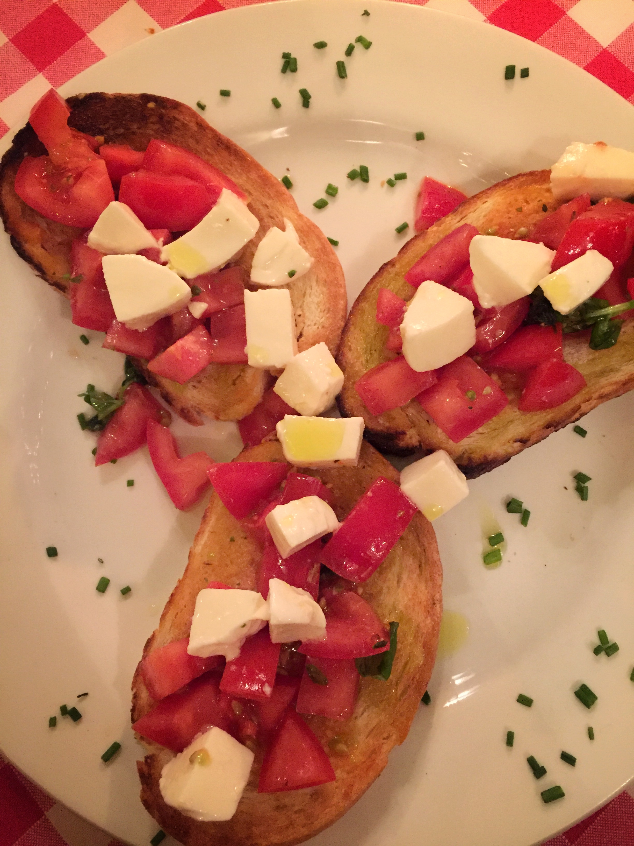 bruschetta at Ausonia (Dresden)