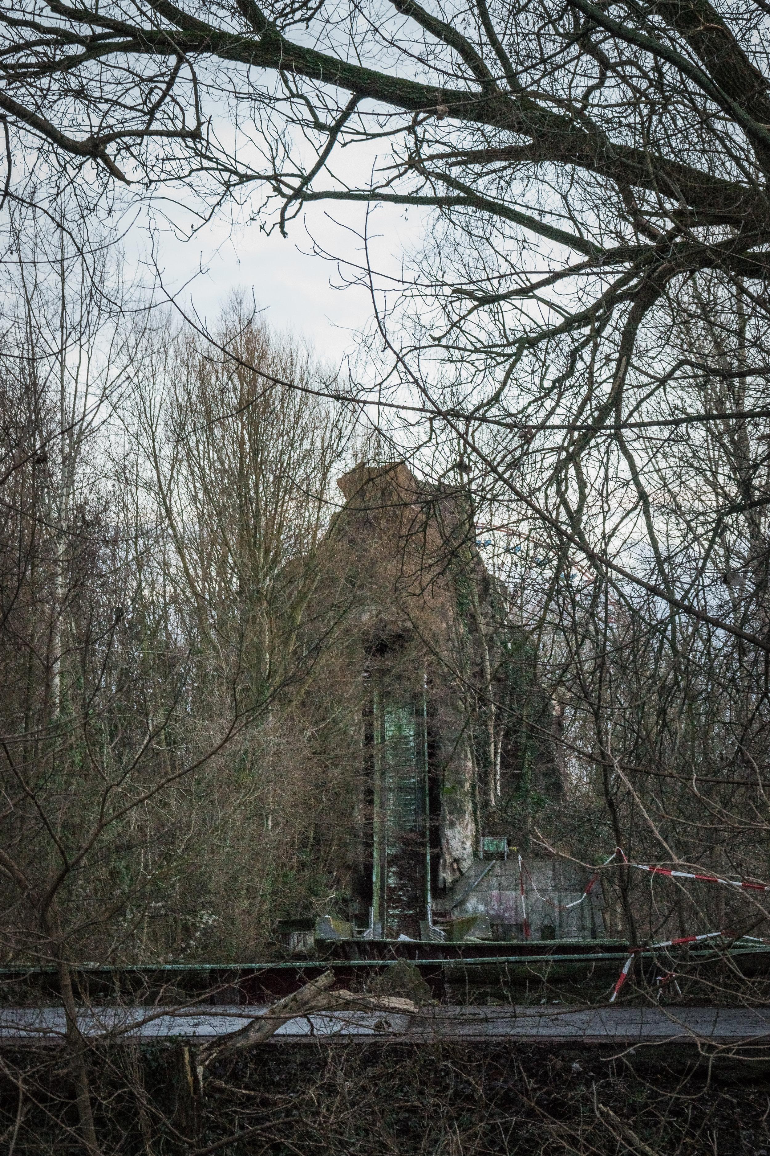 former giant slide