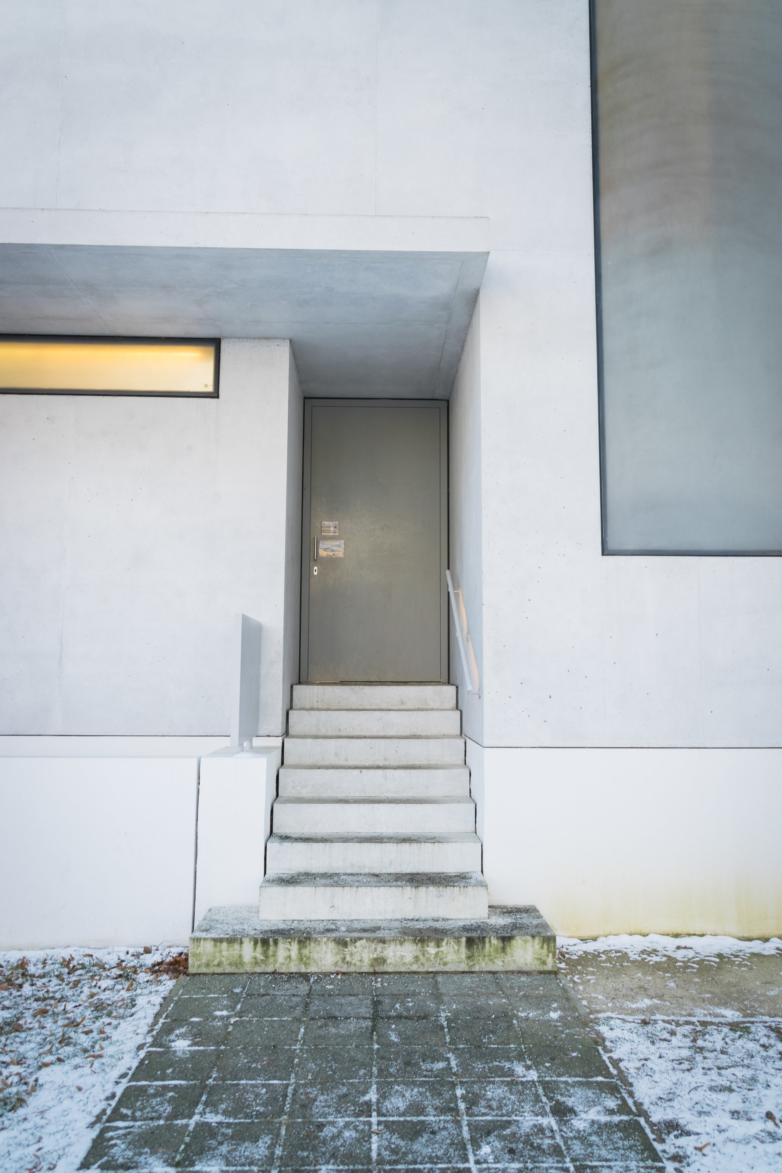 the reconstructed Gropius House