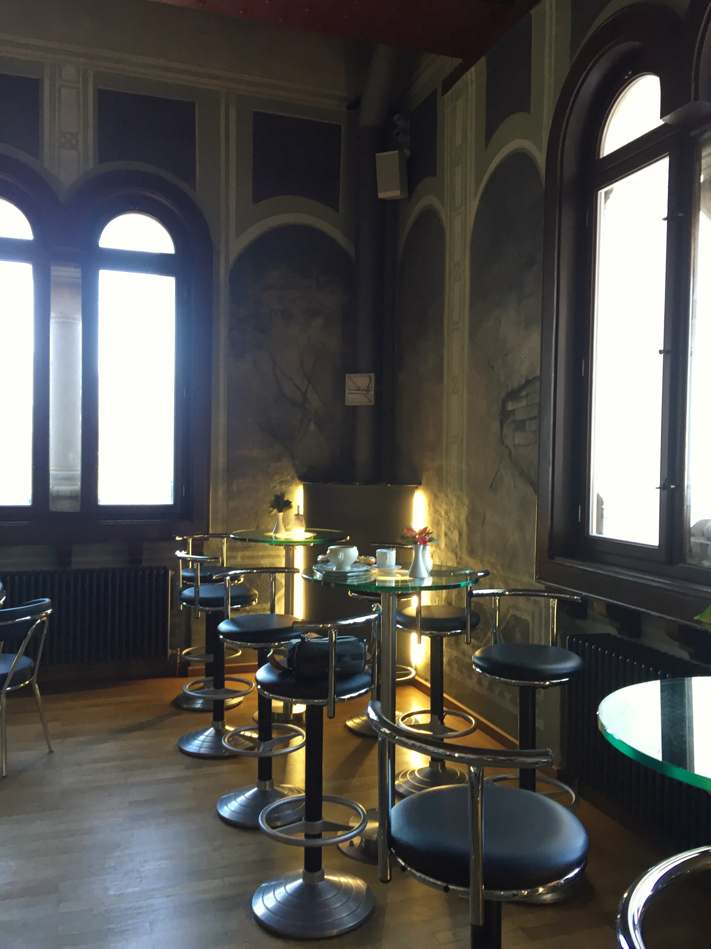 café in Neuschwanstein Castle