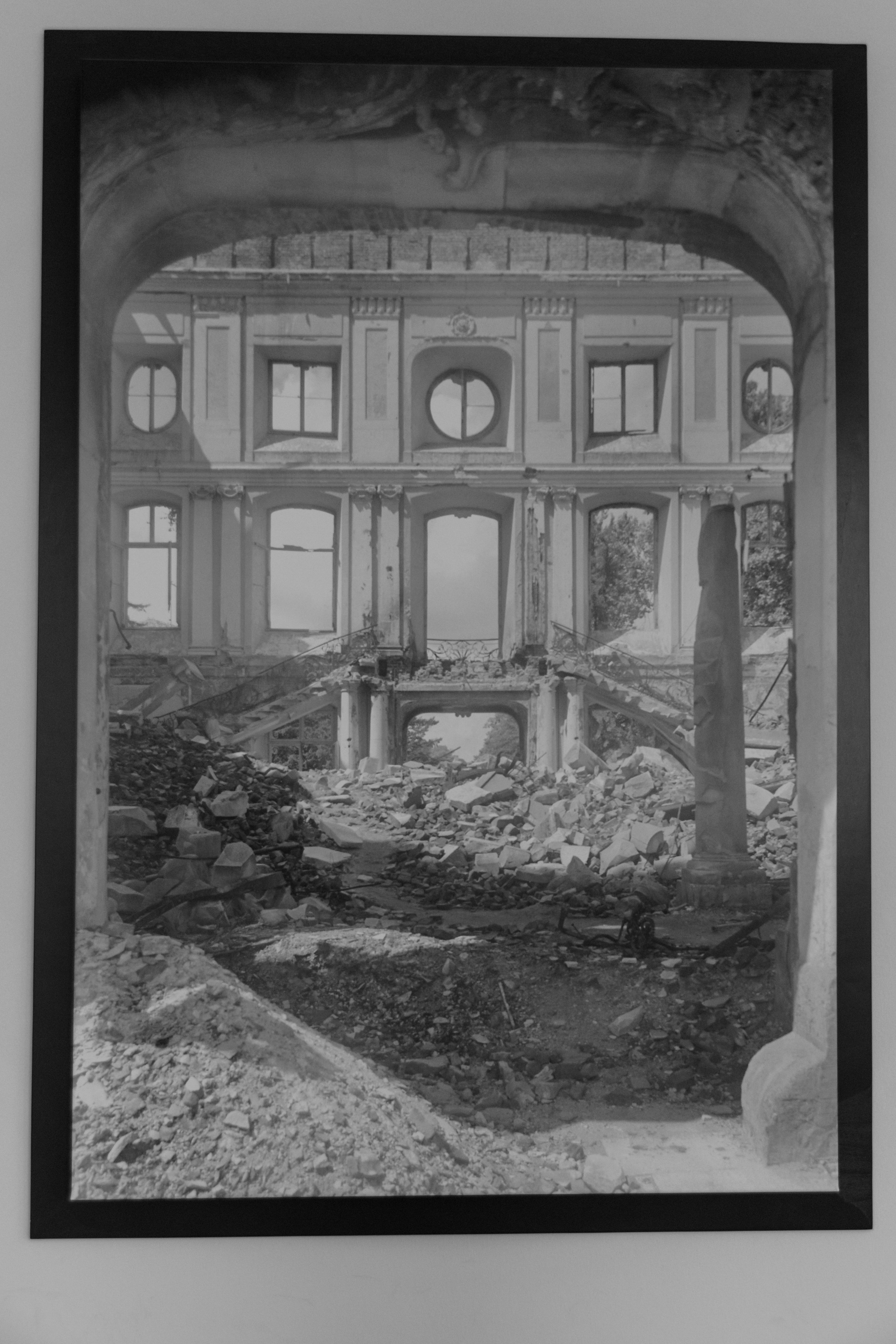the palace after WWII