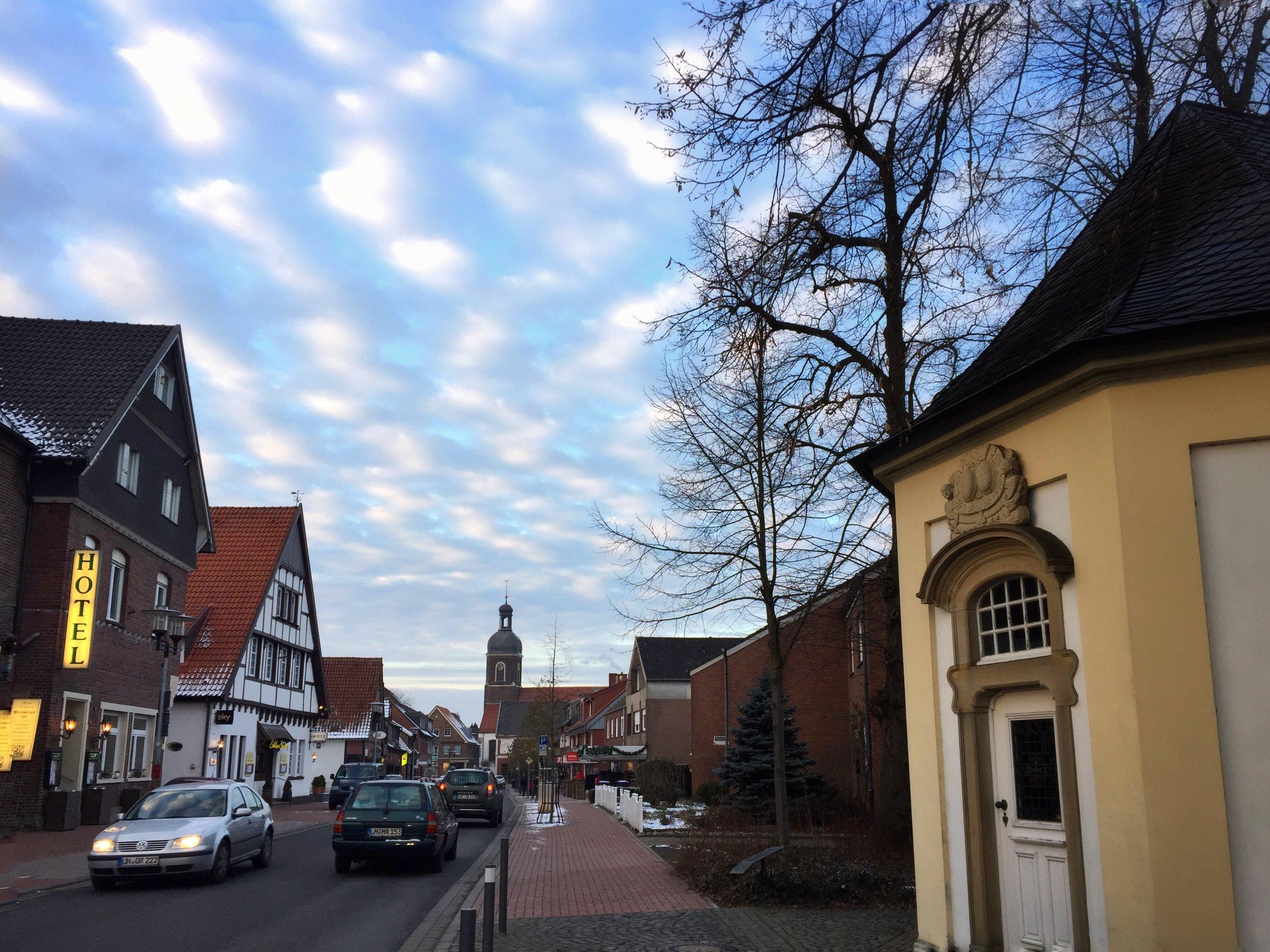 nearby Nordkirchen downtown