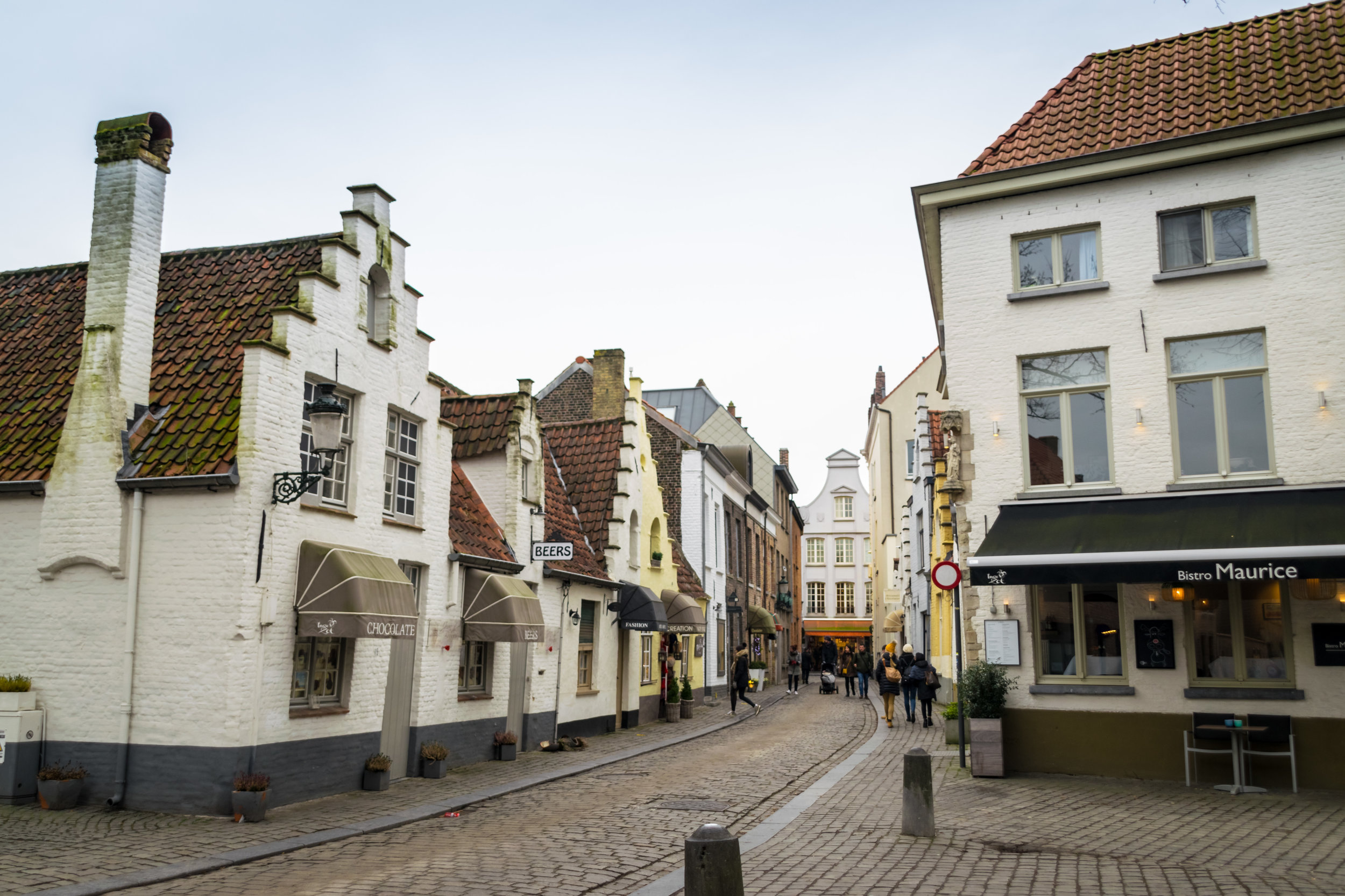 Stoofstraat, the town's red light district in 1453
