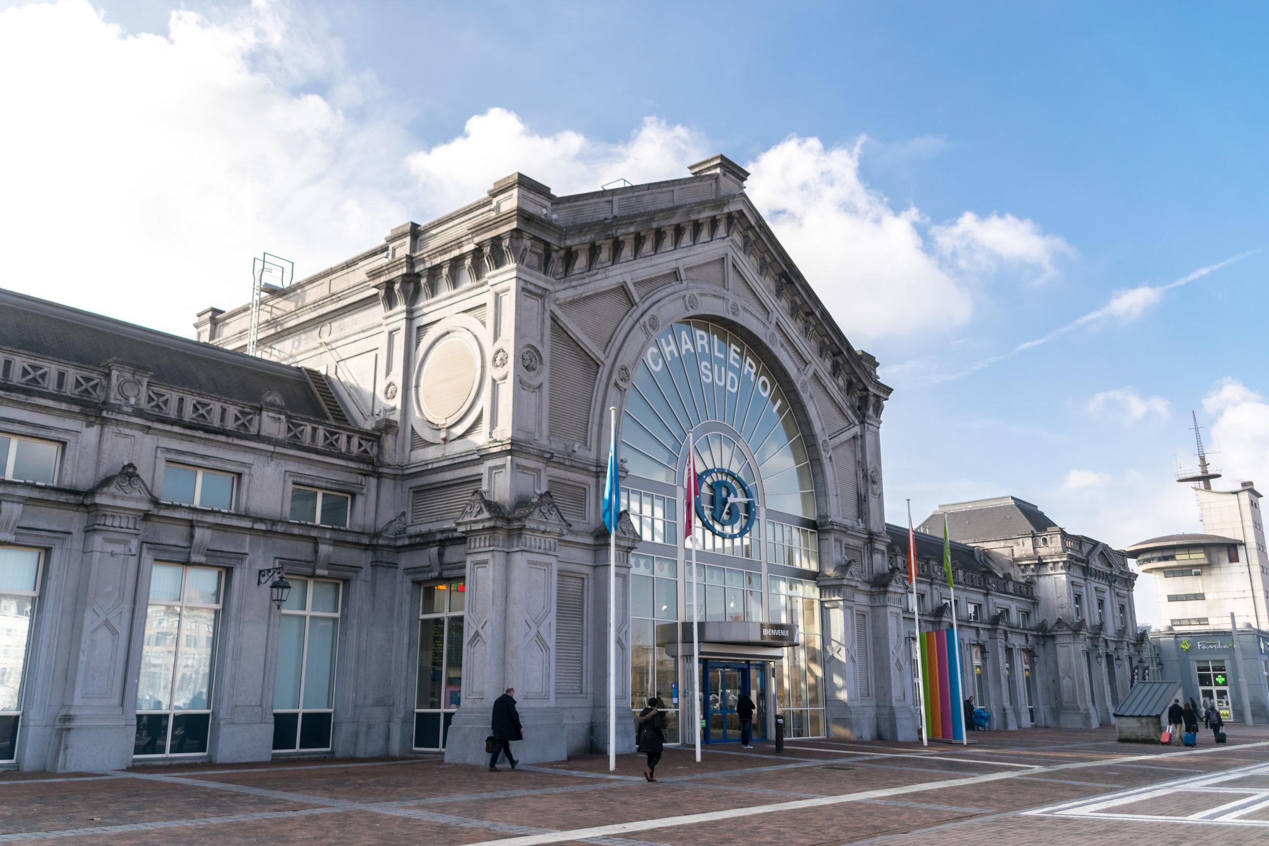 Charleroi station