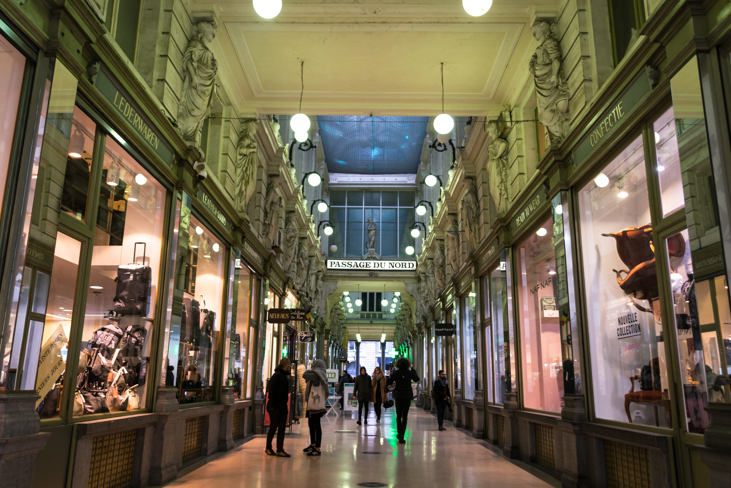 Passage du Nord, another elegant 19th-century shopping arcade