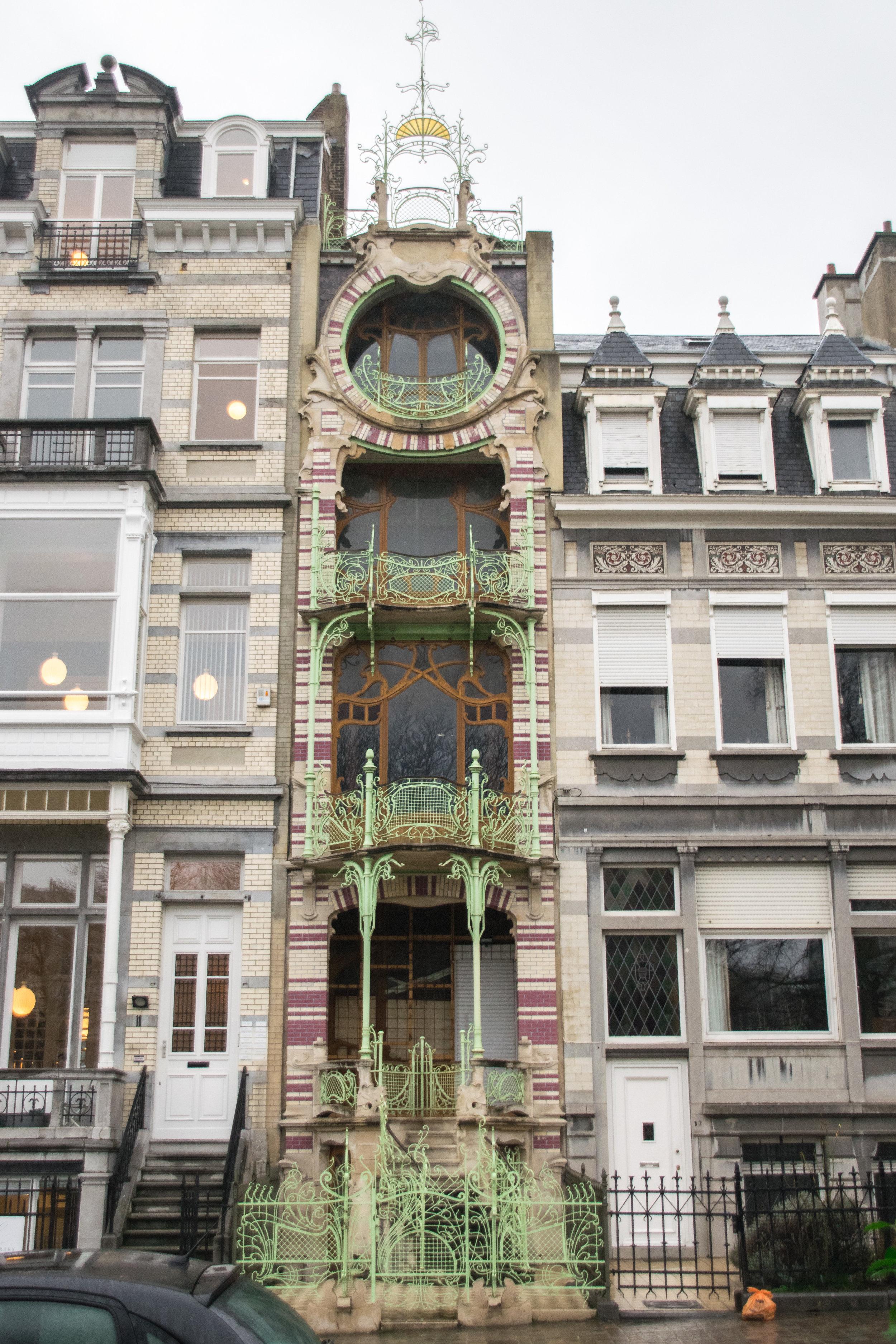 the Saint-Cyr house
