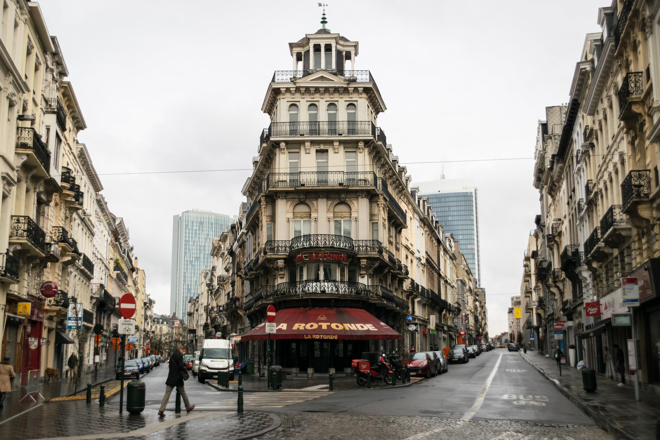 not Art Nouveau but beautiful street view