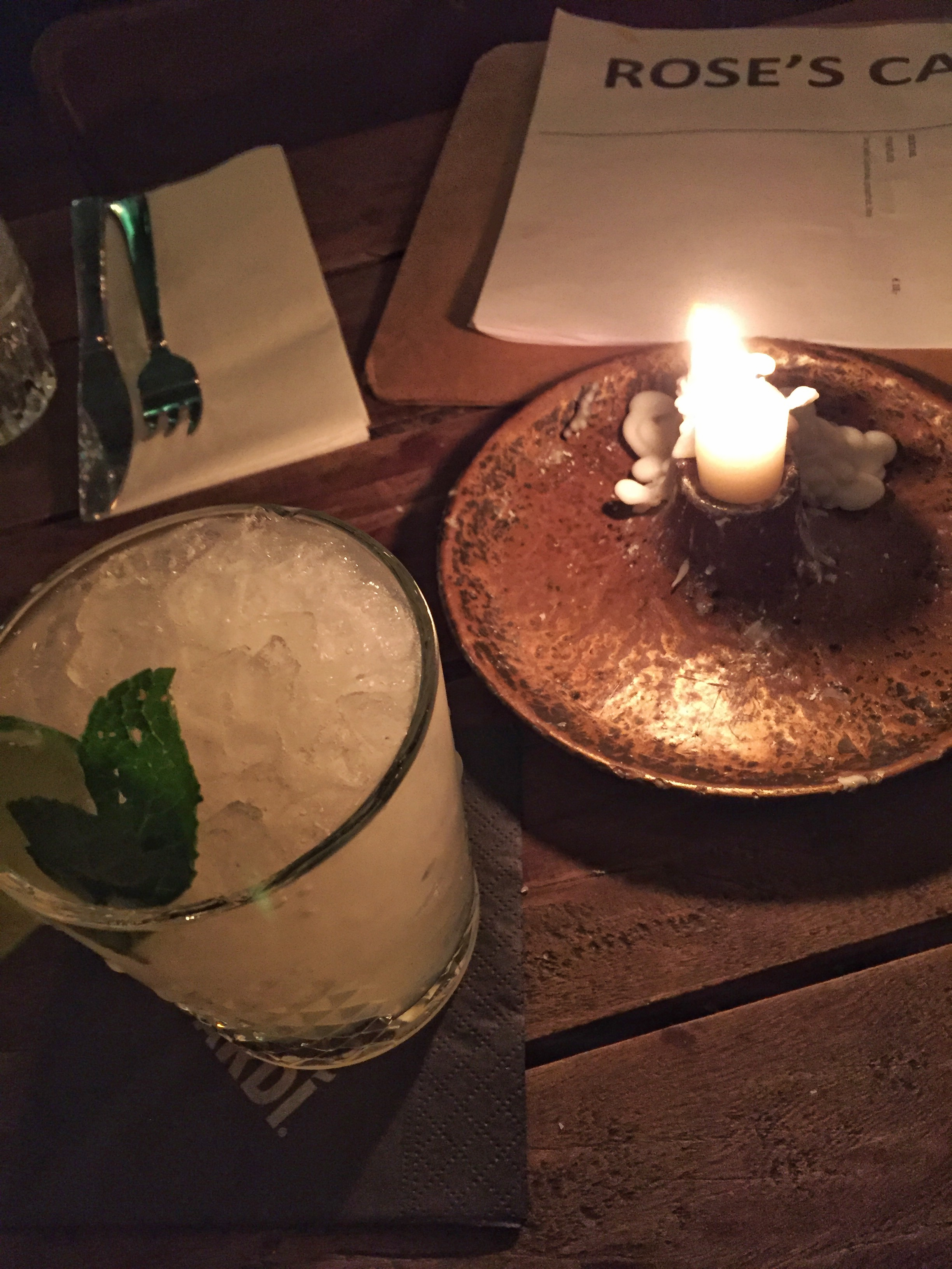 Moscow Mule at Rose's Cantina (Amsterdam)