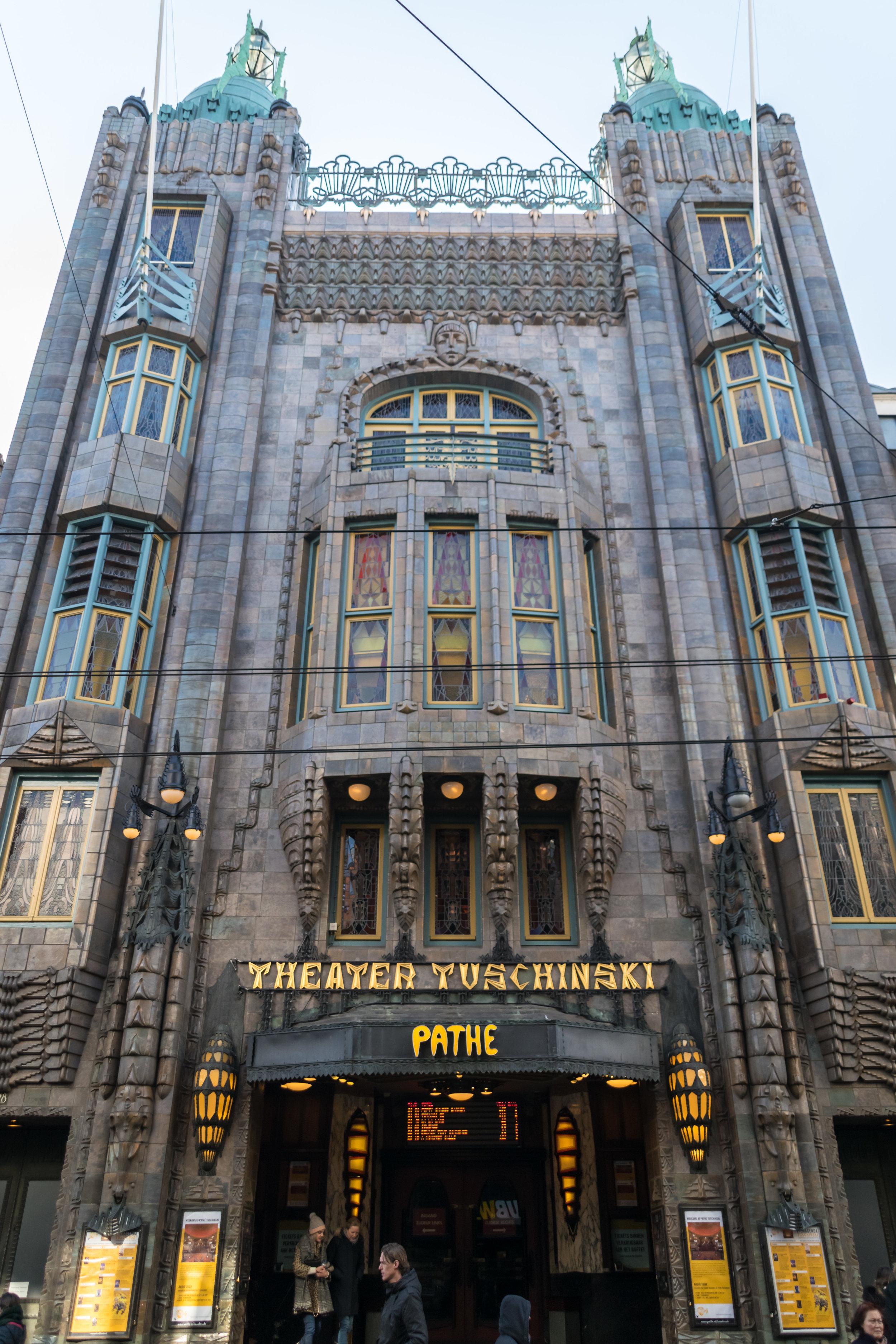 the 1921 Pathé Tuschinski movie theater