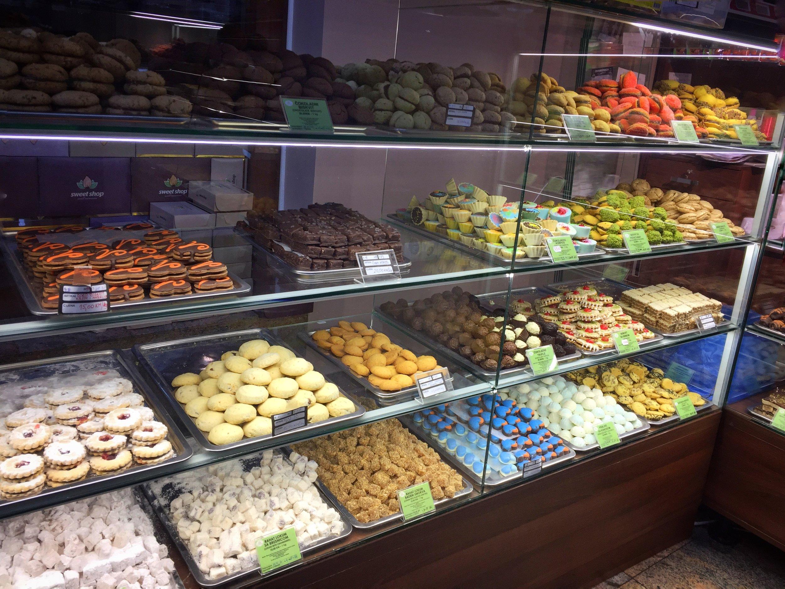 Badem candy shop (Sarajevo)