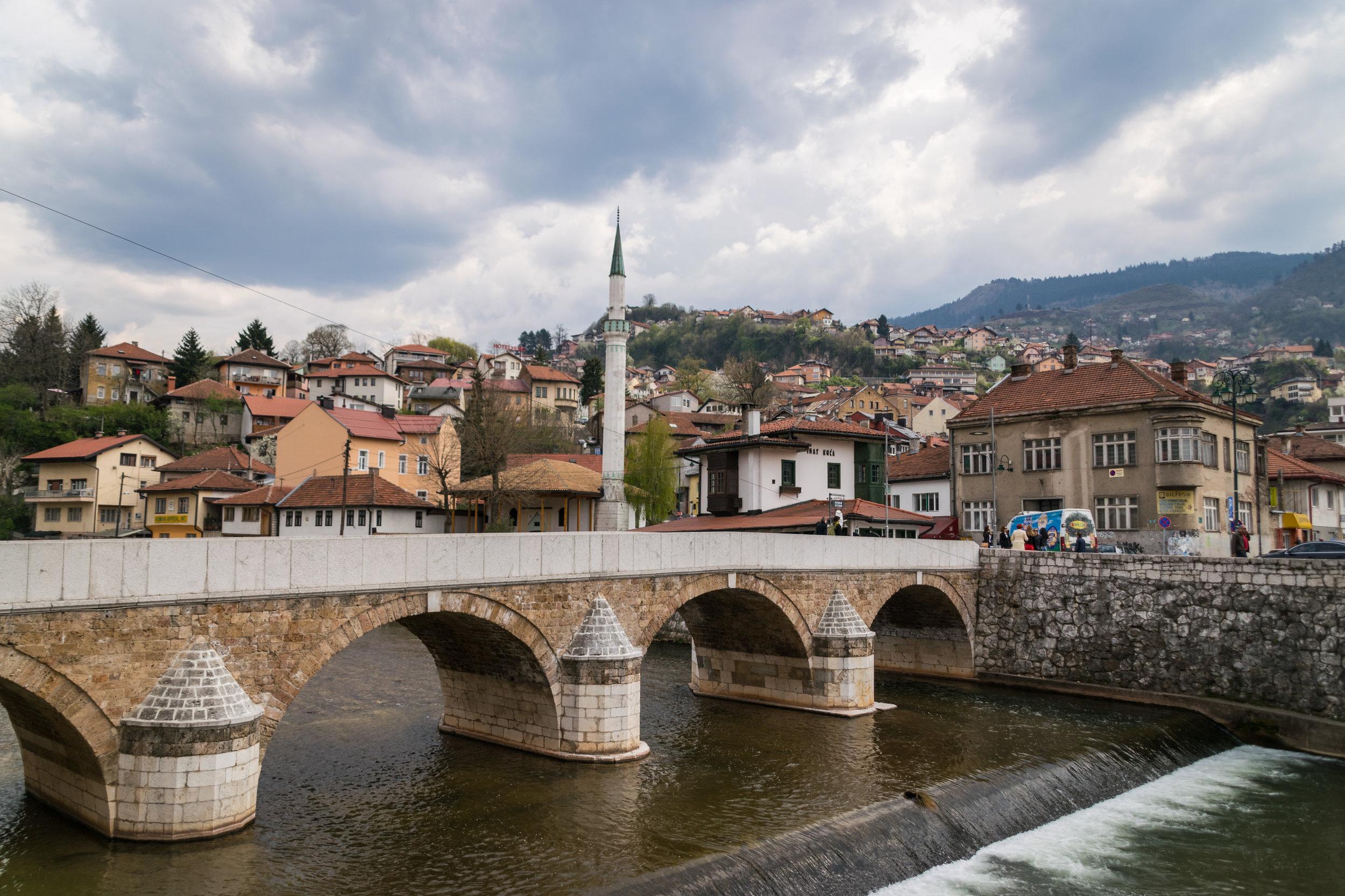 Ottoman era Šeher-Ćehaja Bridge
