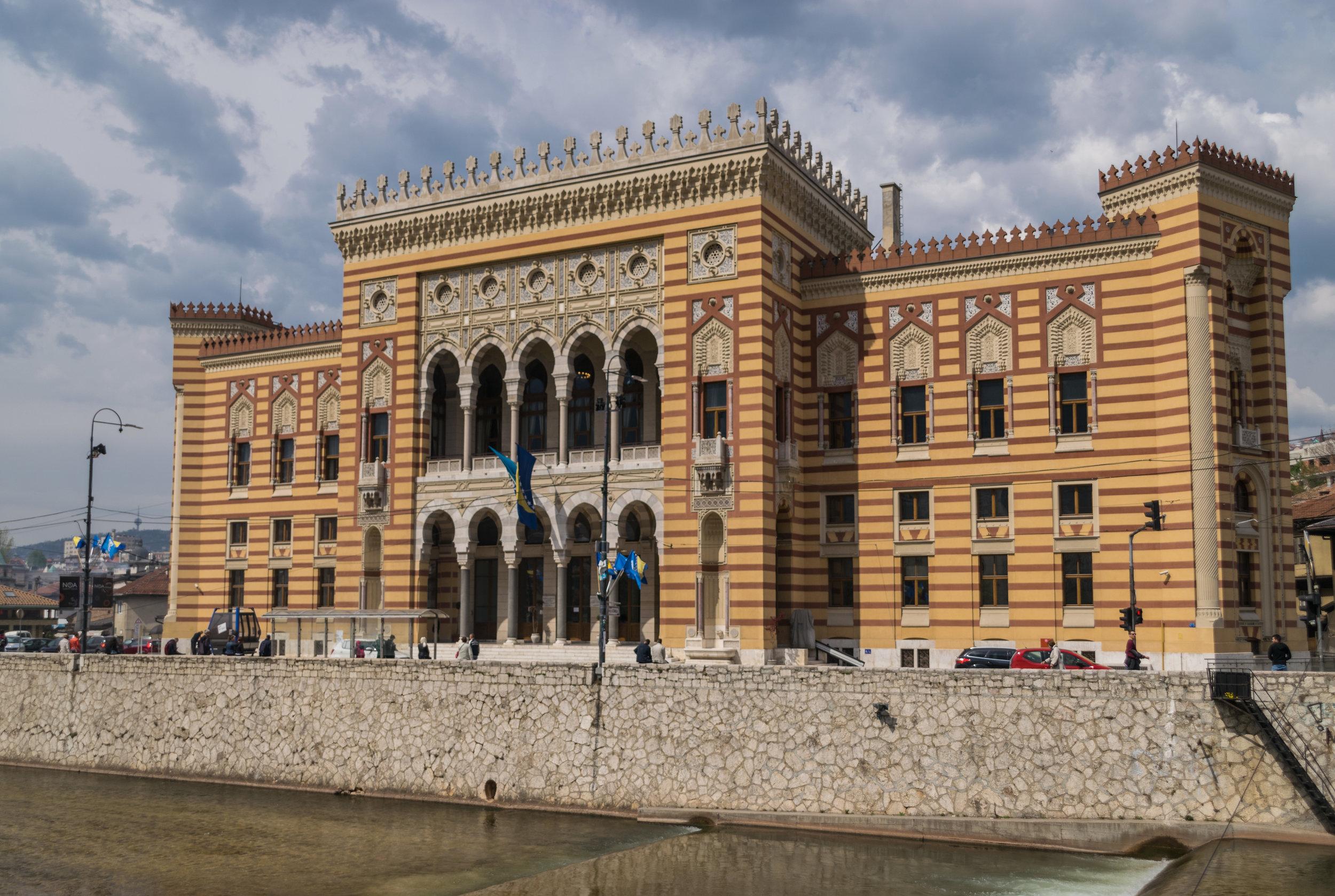 Sarajevo Vijećnica (City Hall)