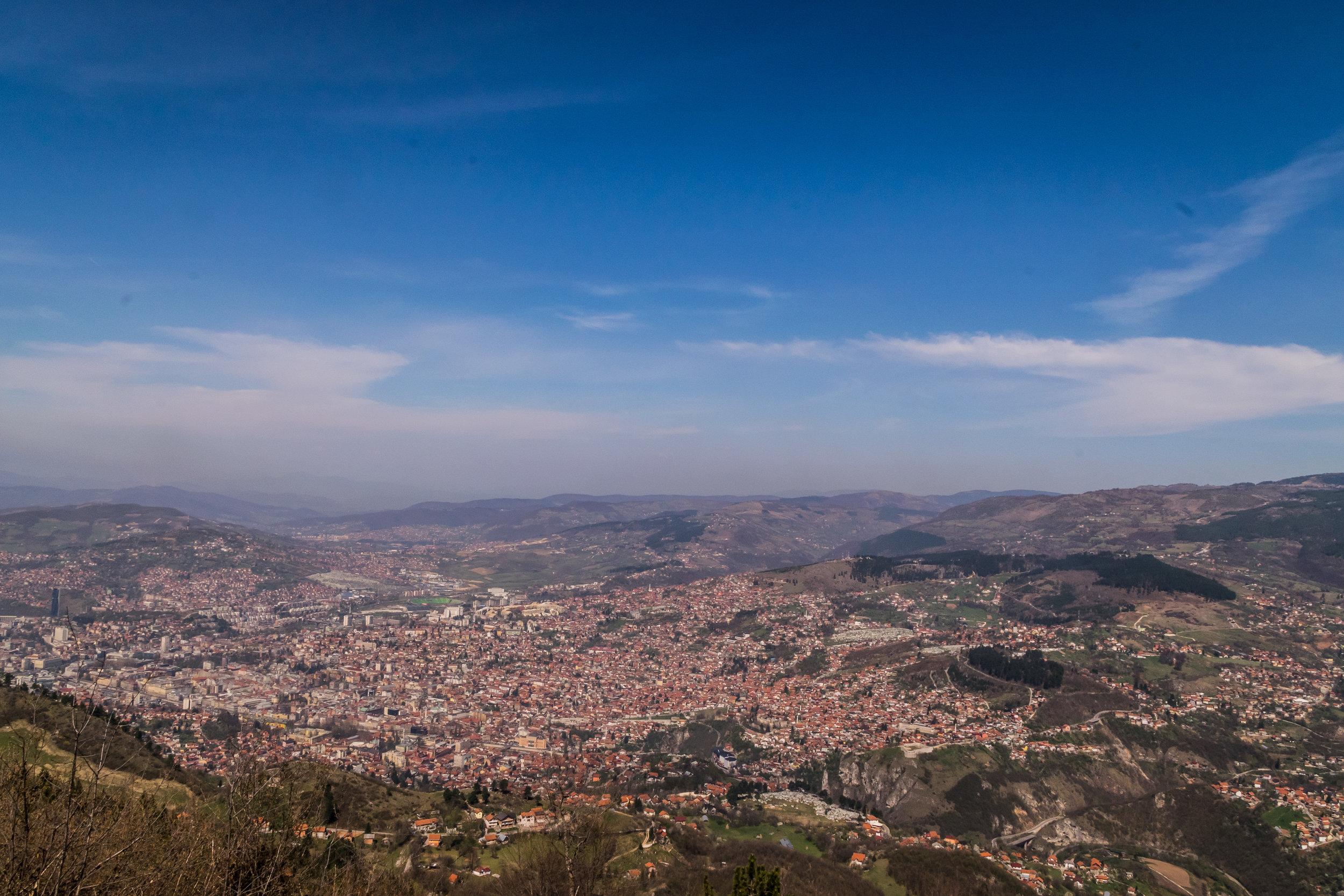 spectacular city views