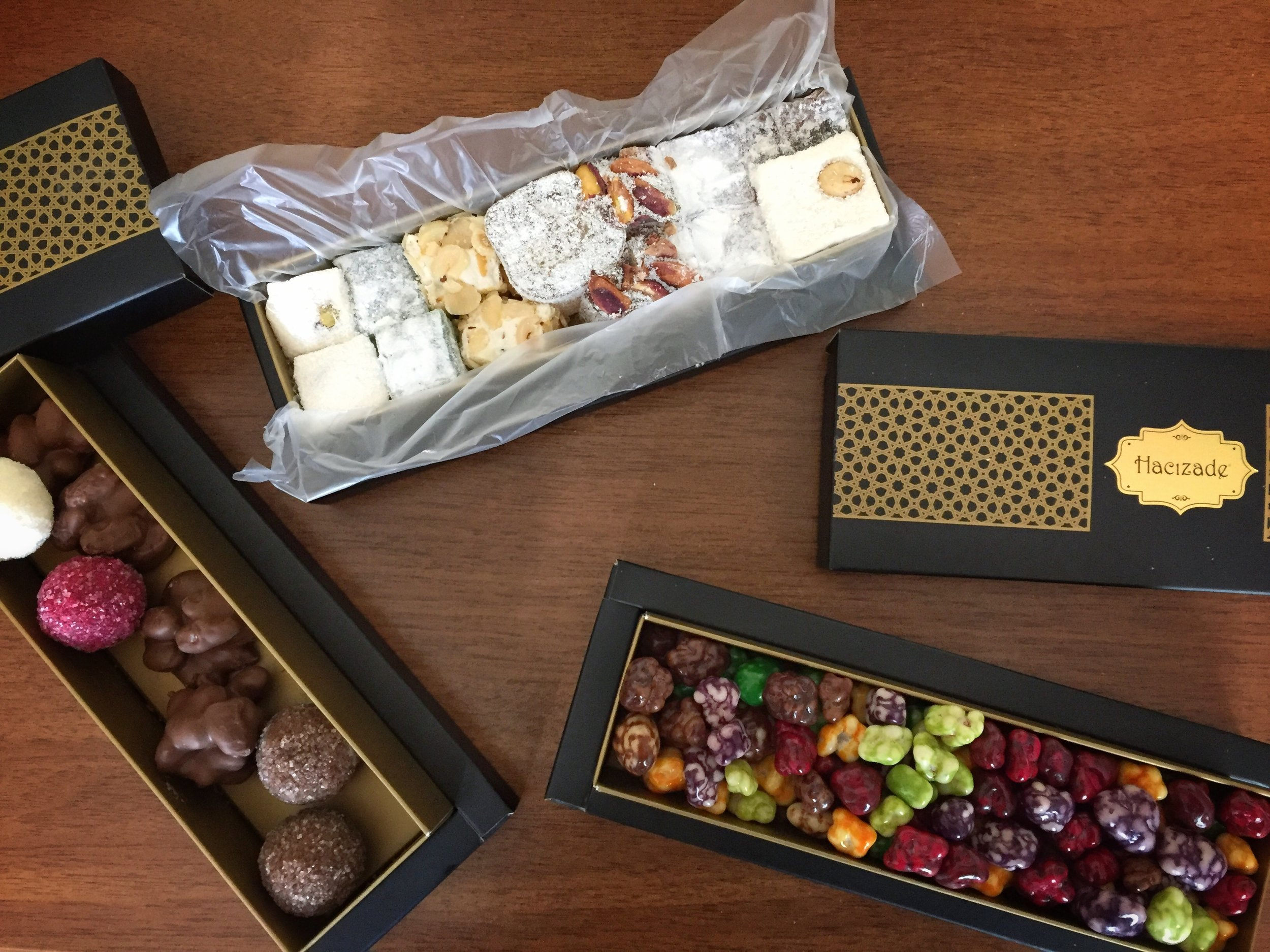 chocolates & Turkish delight