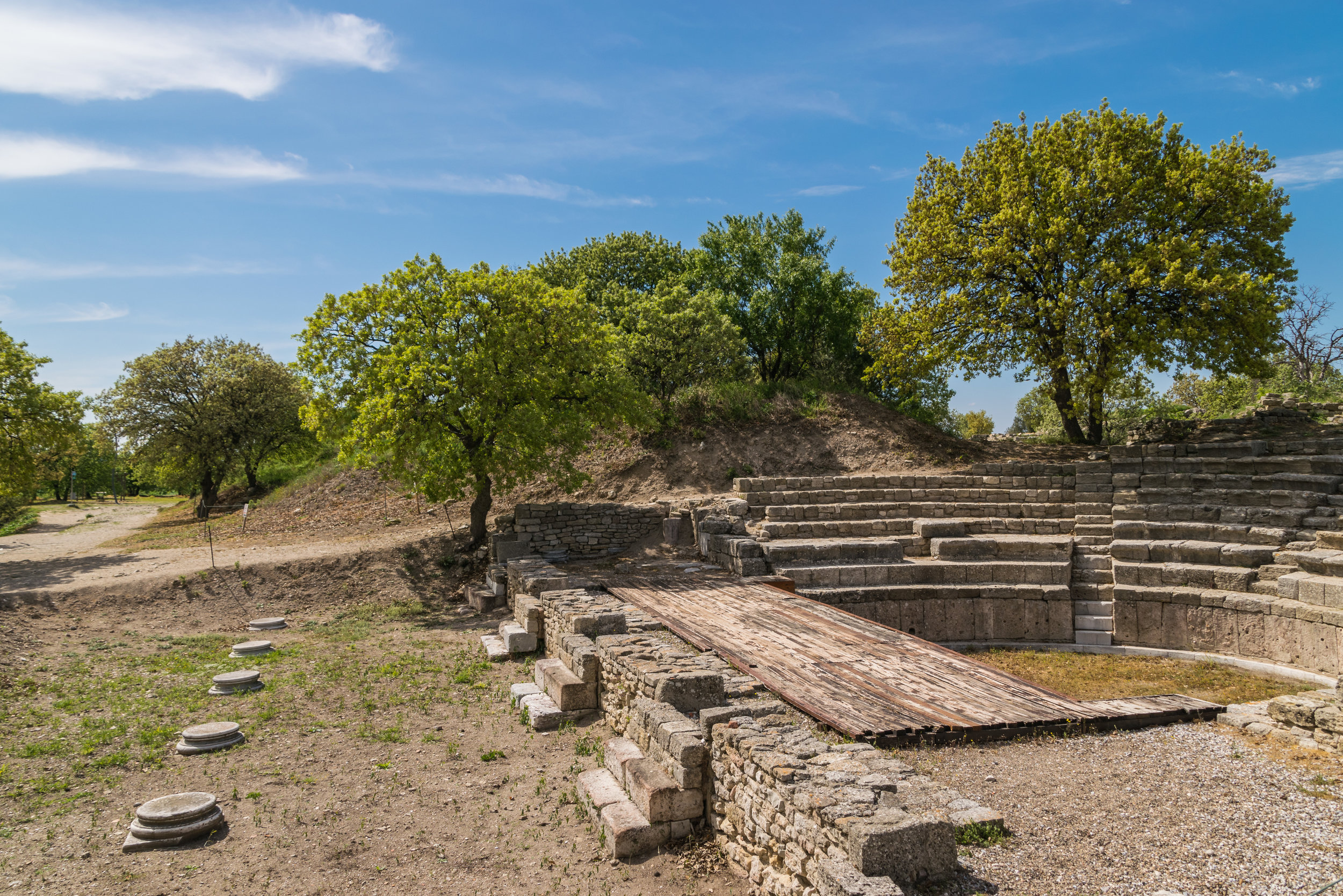 theater remains