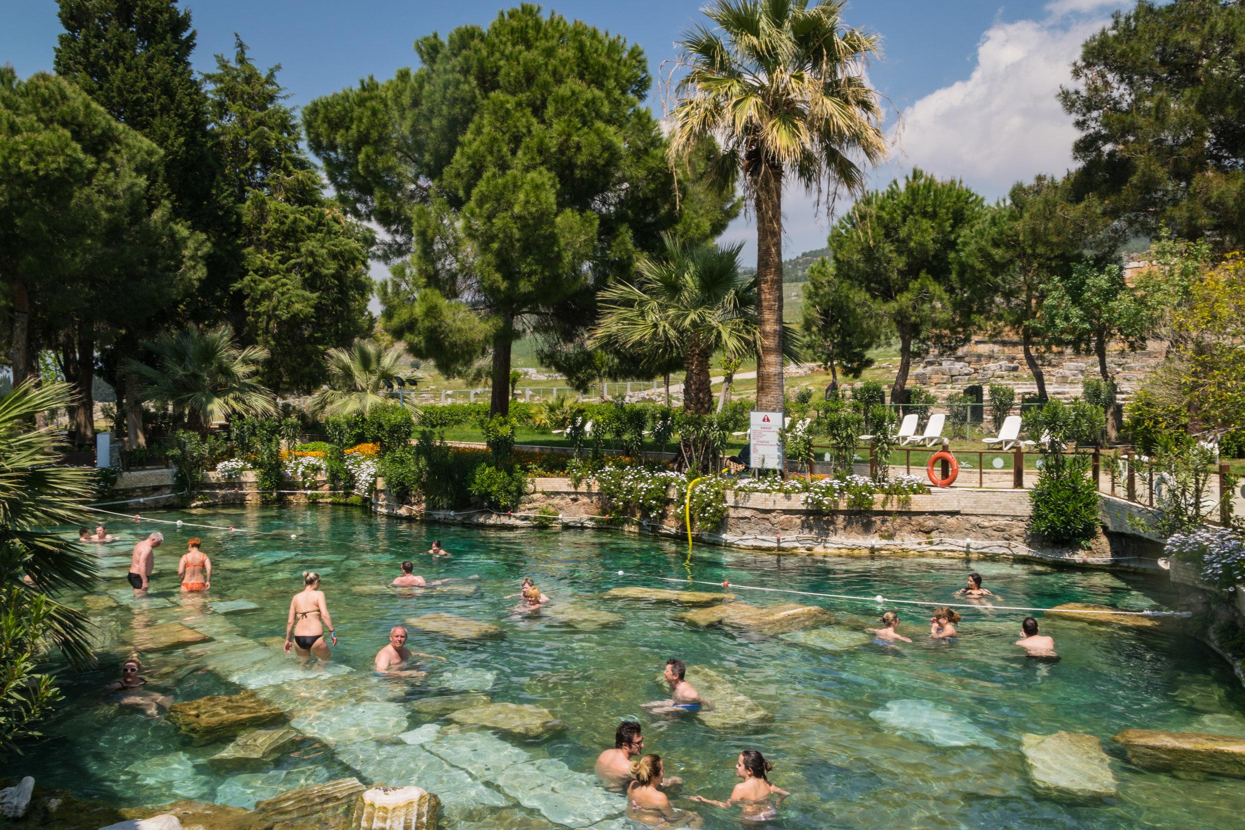 thermal spa Hierapolis