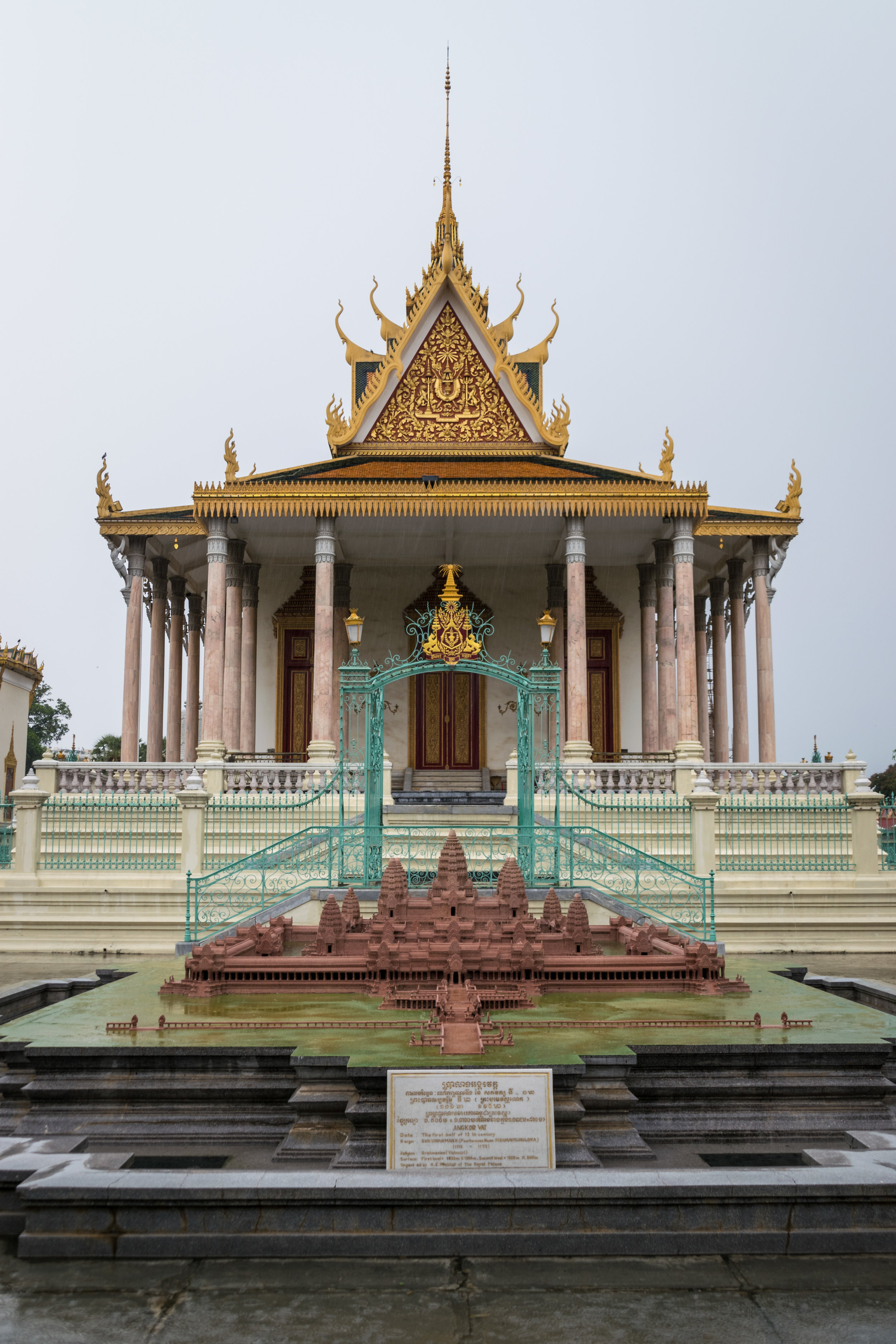 the Silver Pagoda, or Temple of the Emerald Buddha