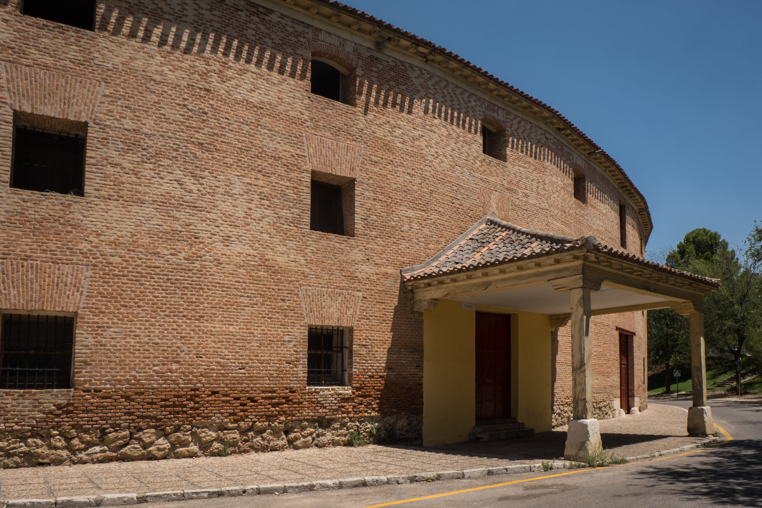 Plaza de Toros, one of Spain's oldest bull rings with a seating capacity of 9000