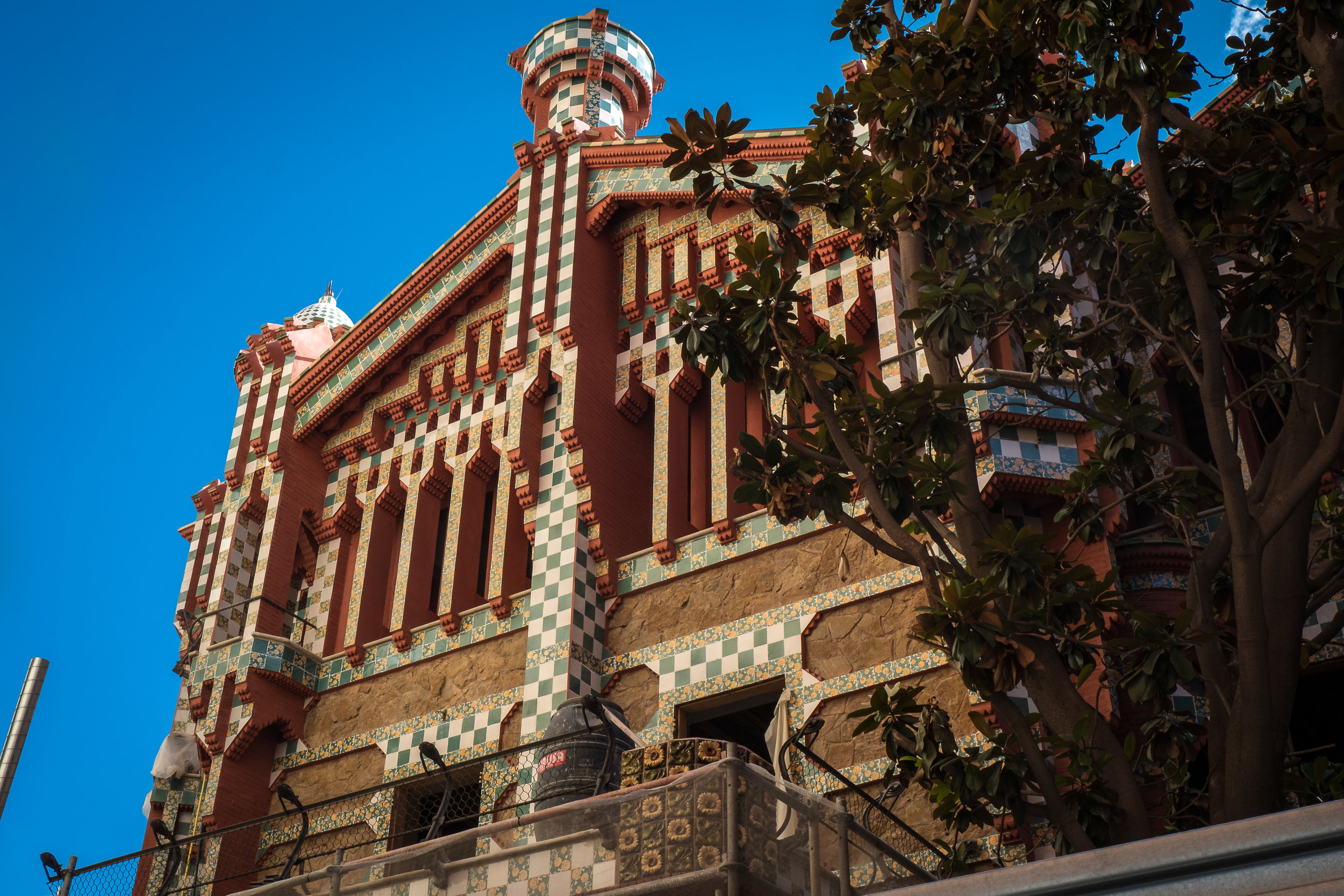 Casa Vicens (closed for renovation)