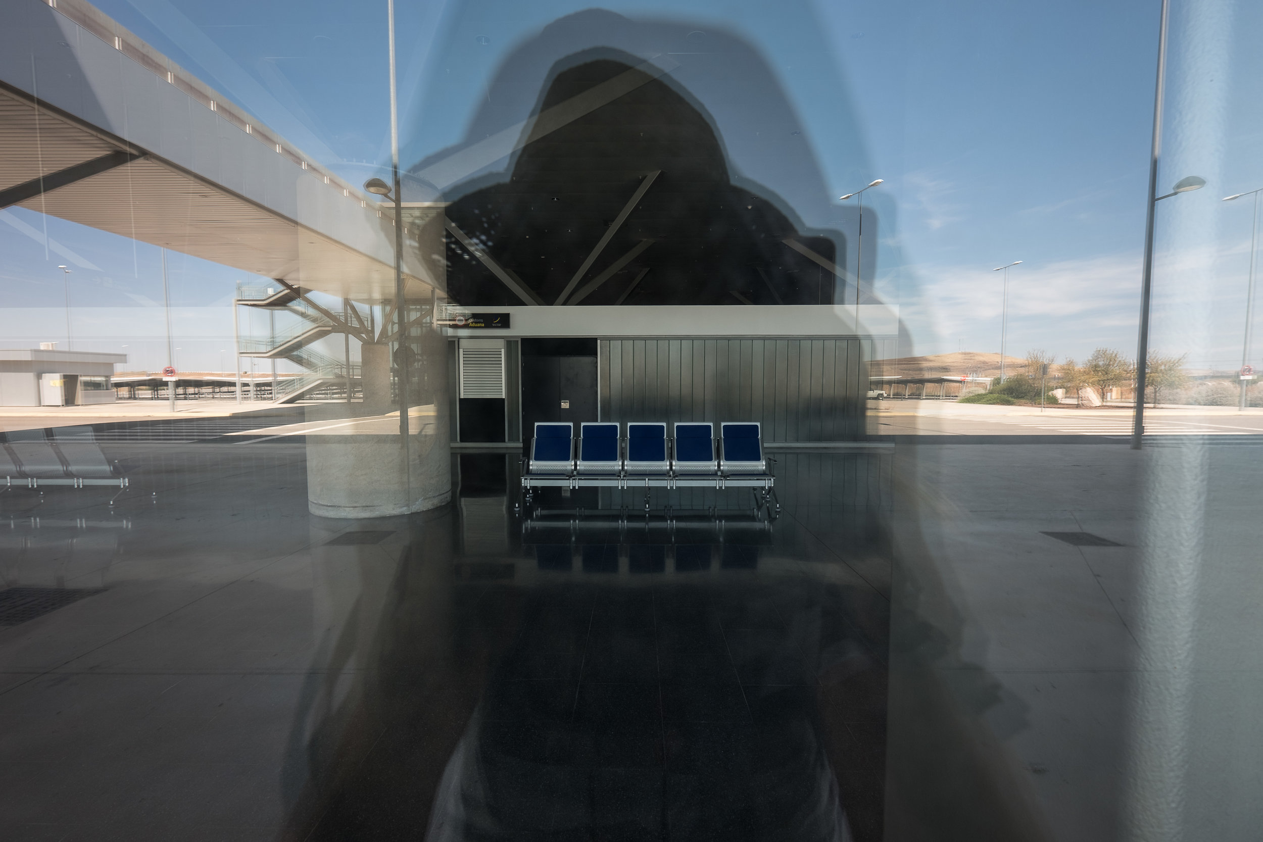Ciudad Real's La Mancha airport (CQM) - This project is also known as Don Quijote airport,an apt nickname considering that both the airport and literary character cannot distinguish delusion from reality.