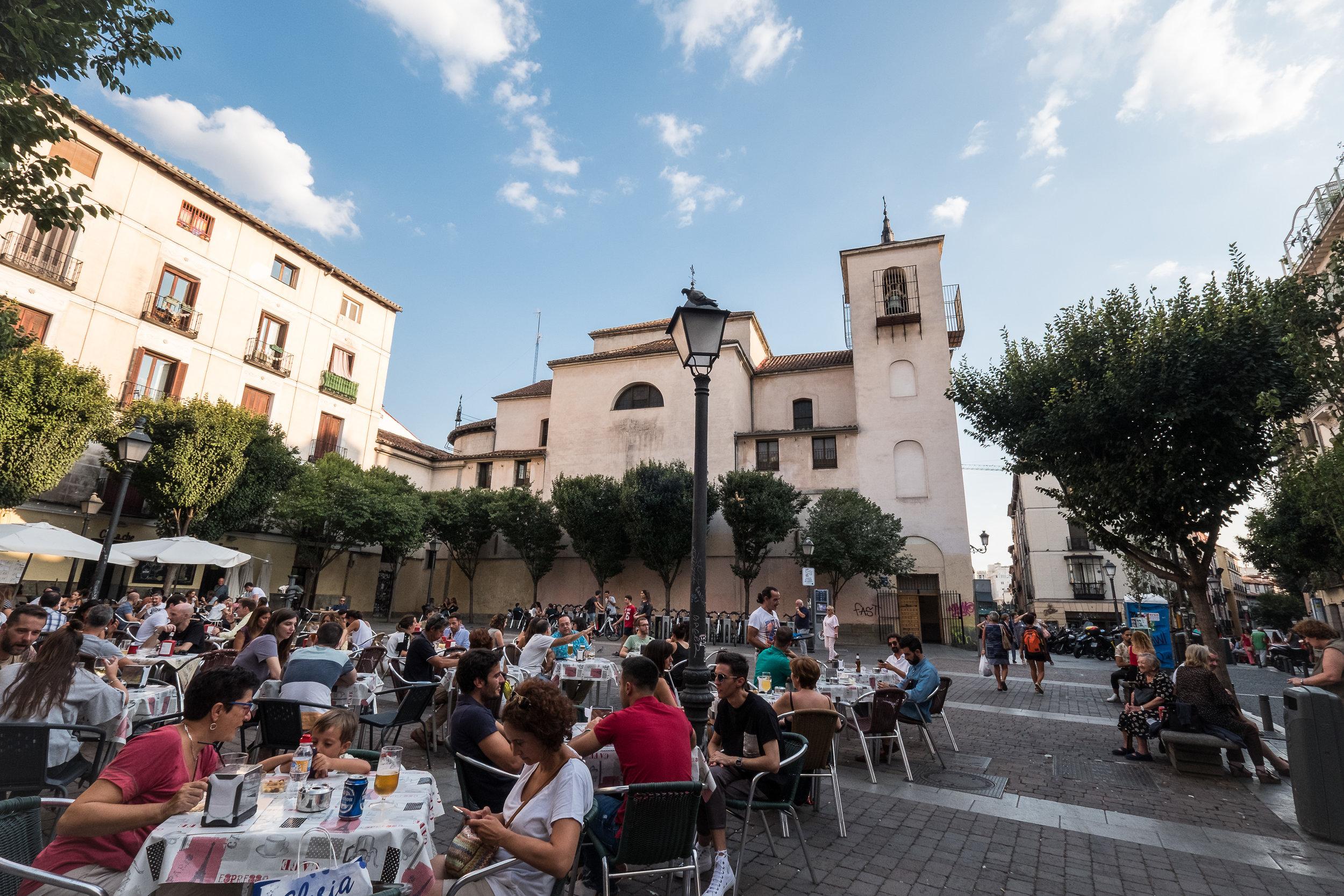 Plaza de San Idelfonso