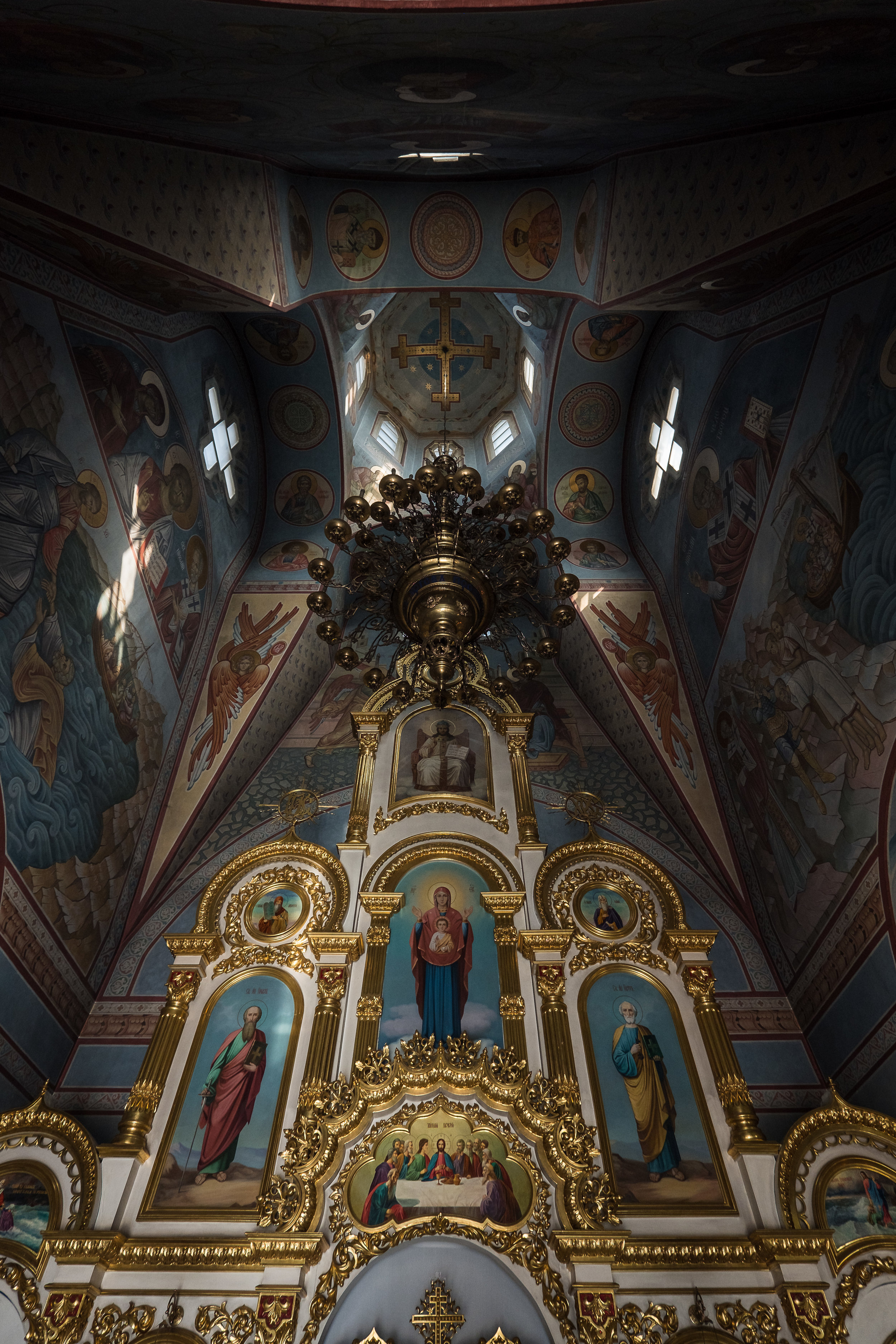 inside St. Nicolas