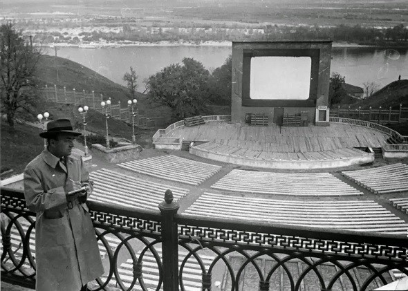 Green Theatre in 1949 (photo credit:  abandonedme.com )