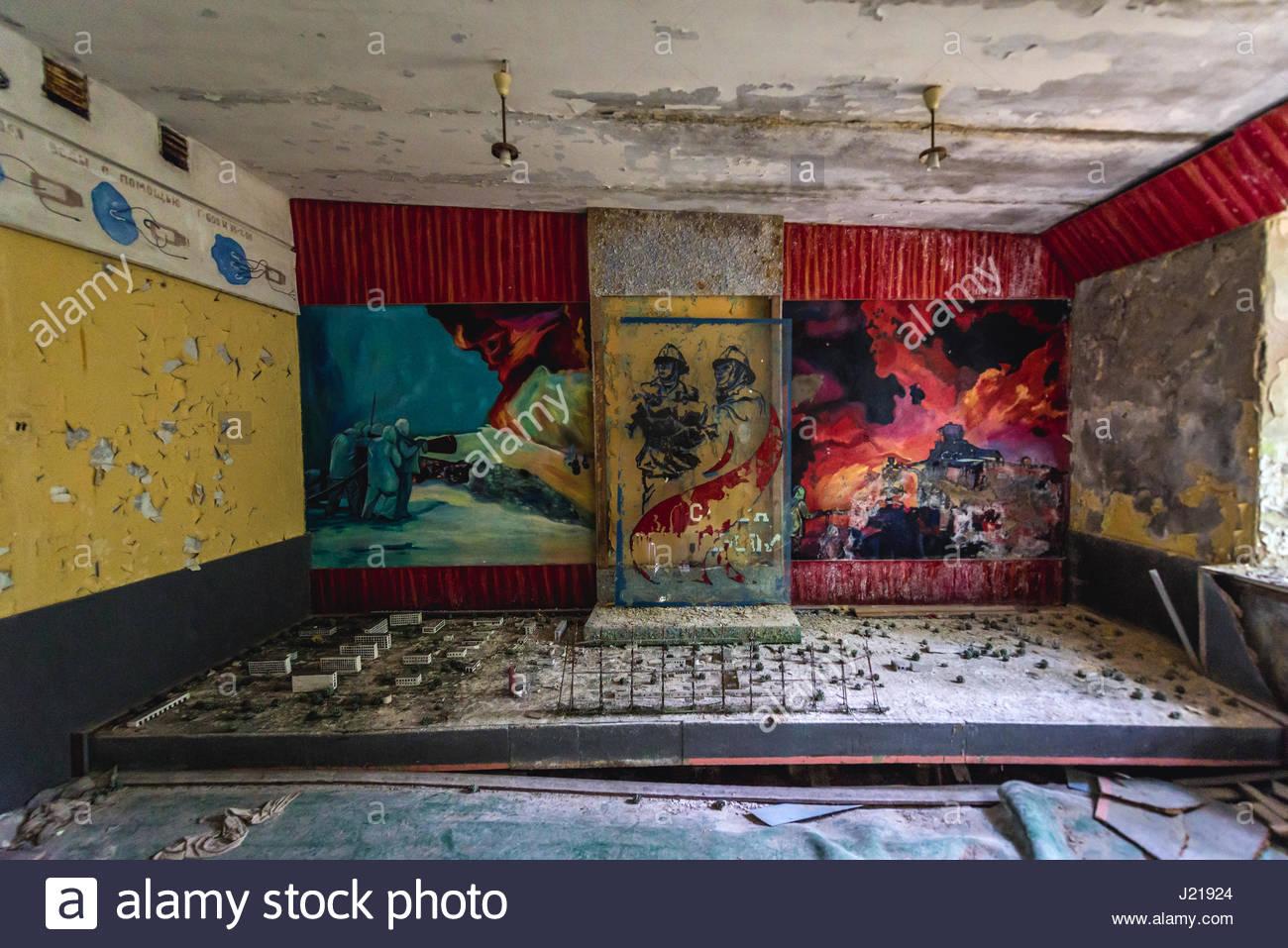 model town of Chernobyl (photo credit: Alamy.com)
