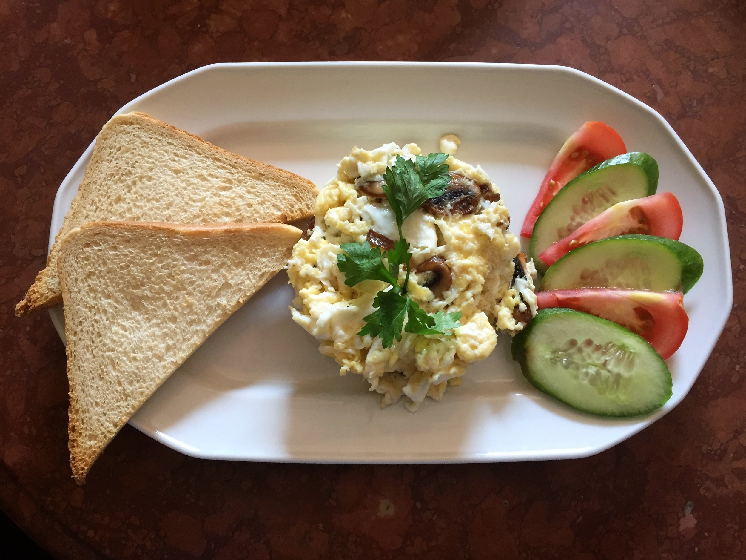 cafe breakfast, Lviv