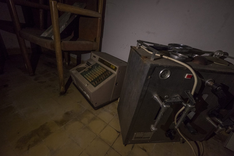 old coffee machine, etc.