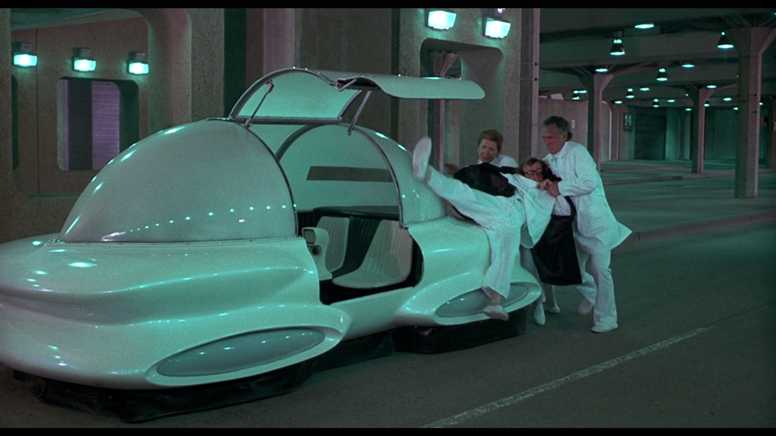 a gratuitously idealistic view of the future, but it sure is cute:  Sleeper