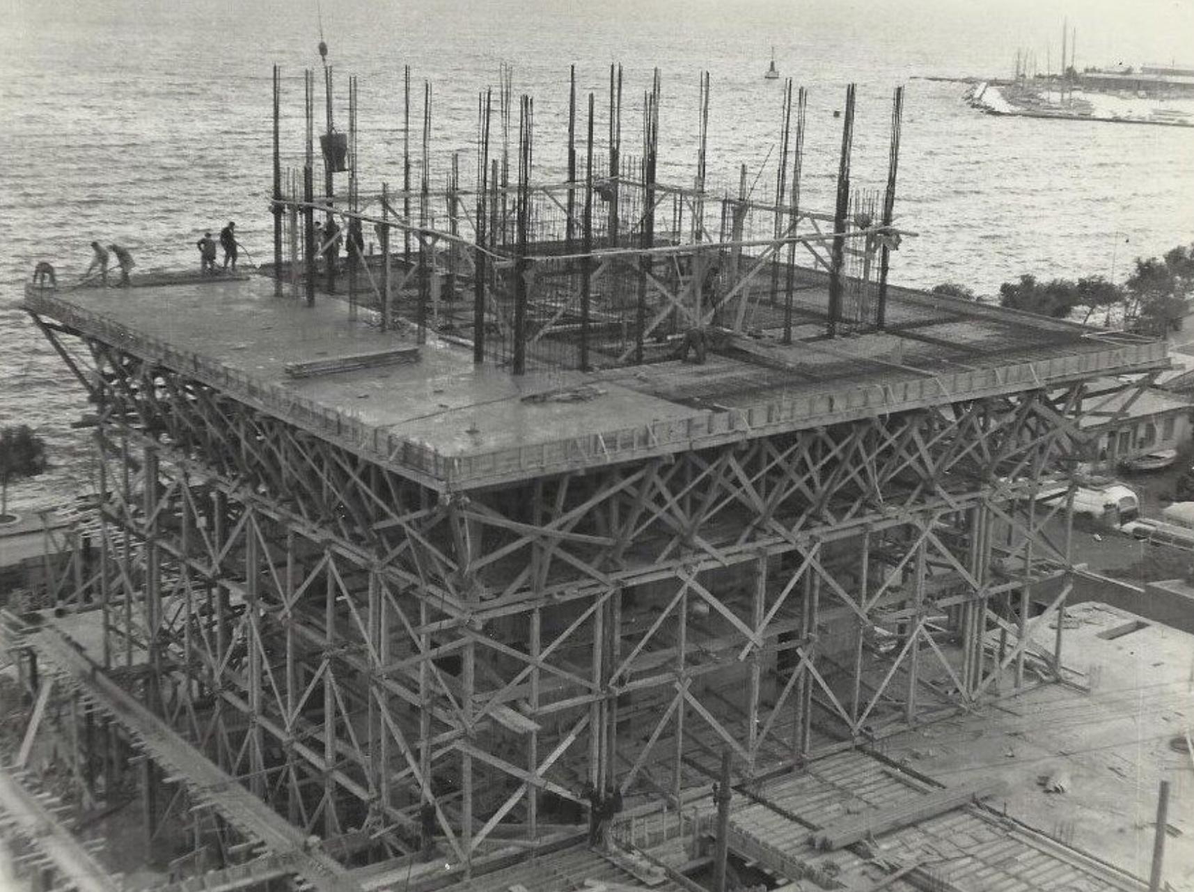 historic photos of Marjan's construction courtesy Emil Strniša