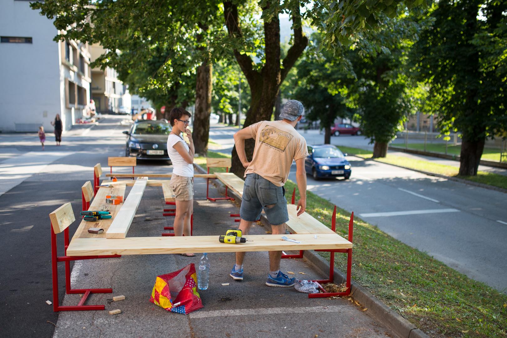 Idrija street furniture project (photo credit: photo Marko Čuk, prostoRož)