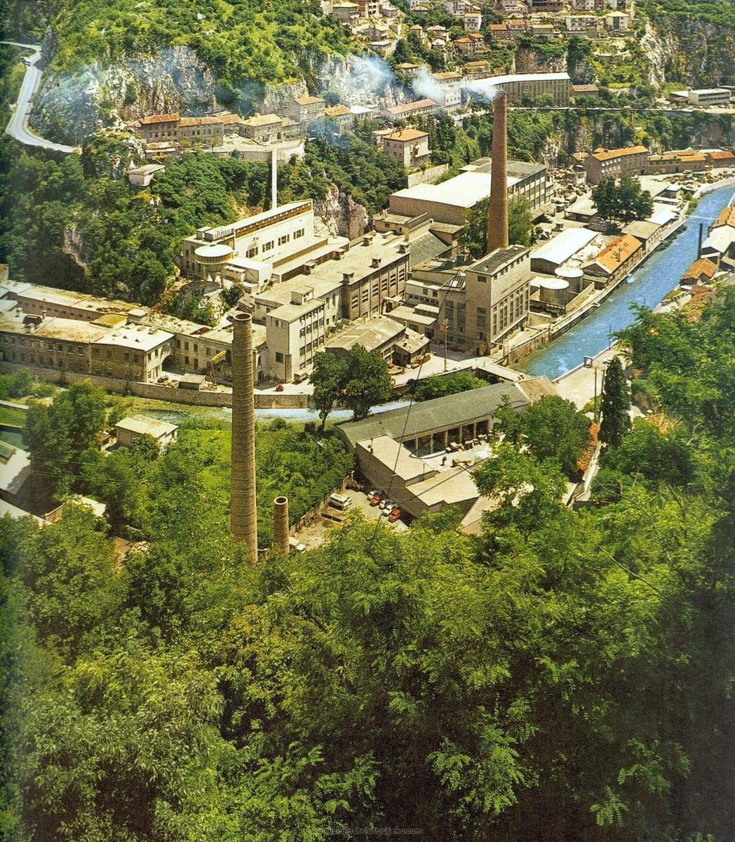 the complex in 1971 (photo source: lokalpatrioti-rijeka.com)