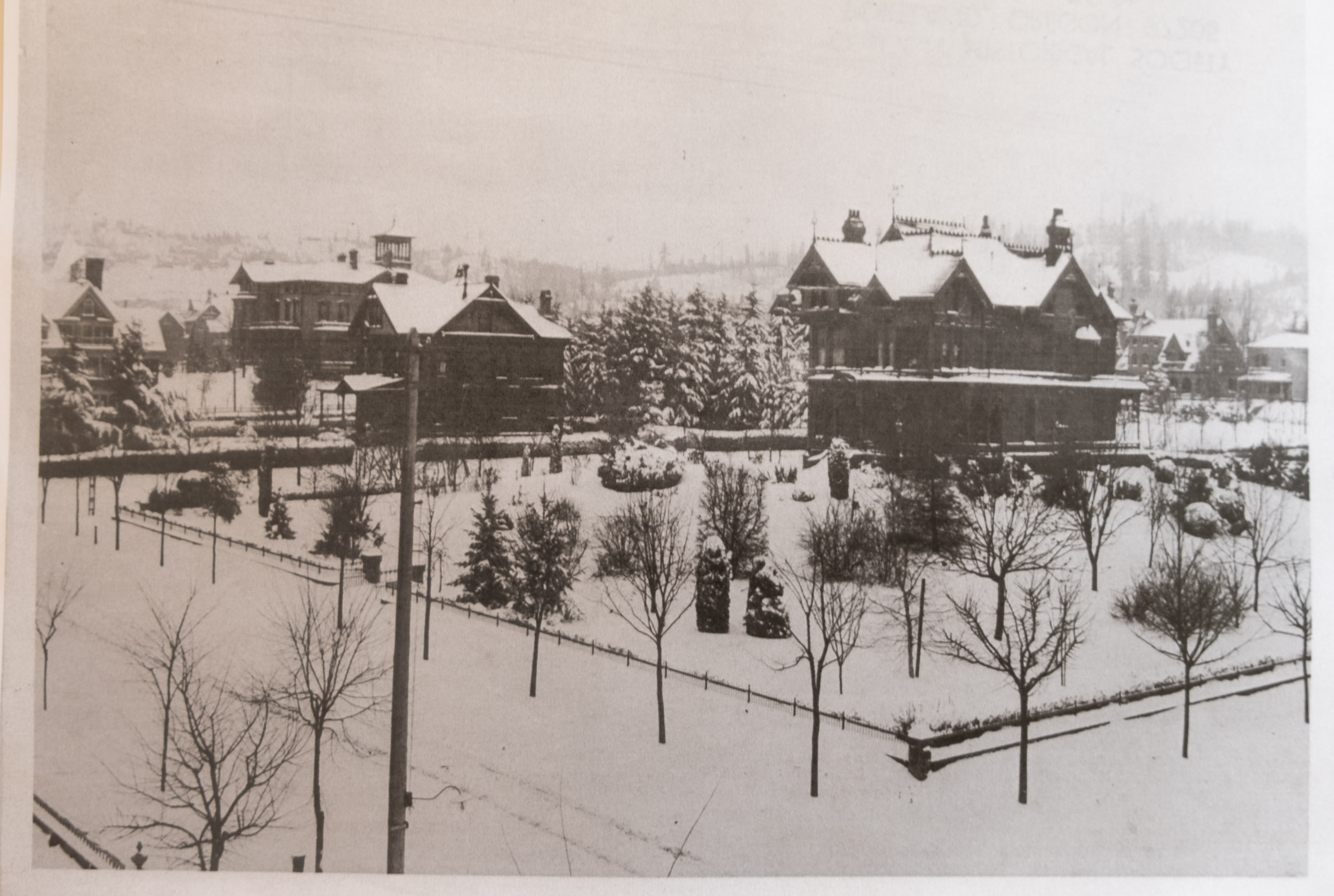 NW 19th Ave and NW Johnson Street, circa 1880s