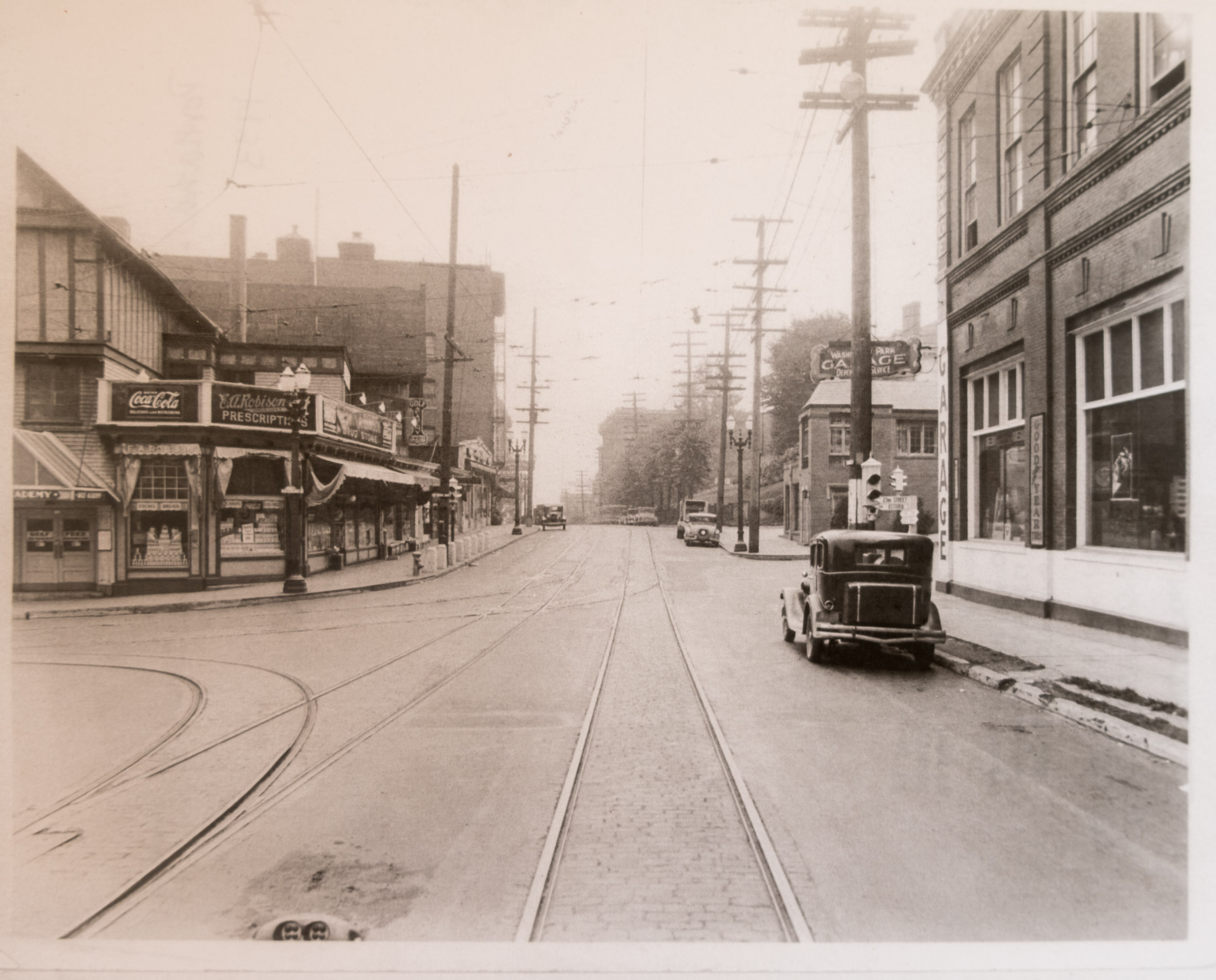 On Burnside looking from the west to the east, 1933