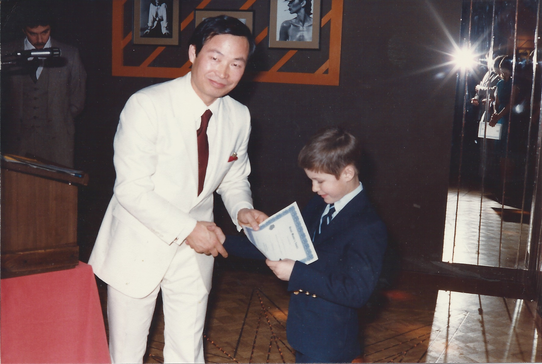 0081 United Tae Kwon Do Annual New Year's Party Darren Levack for Youthful Dedication 1980-01-05.jpg