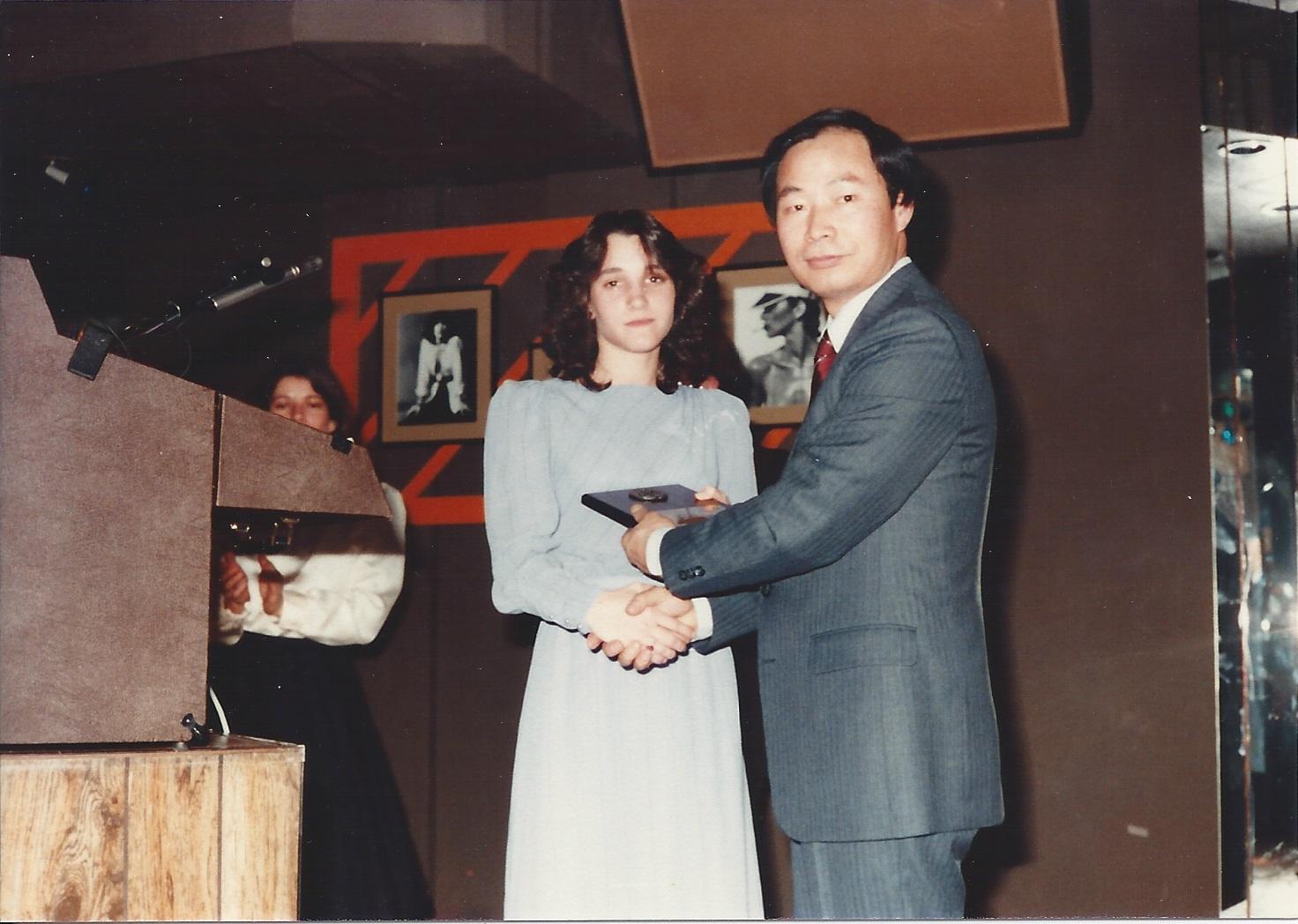 0091 United Tae Kwon Do Banquet maybe Joan McLaughlin Circa 1980.jpg