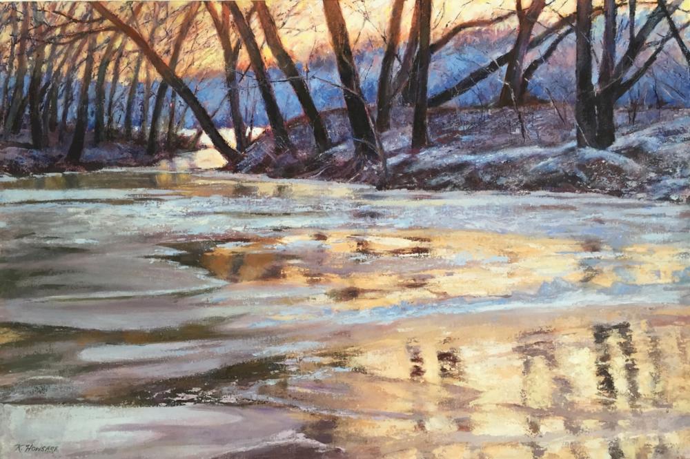 Kathleen Howsare, Potomac Inlet at Brunswick