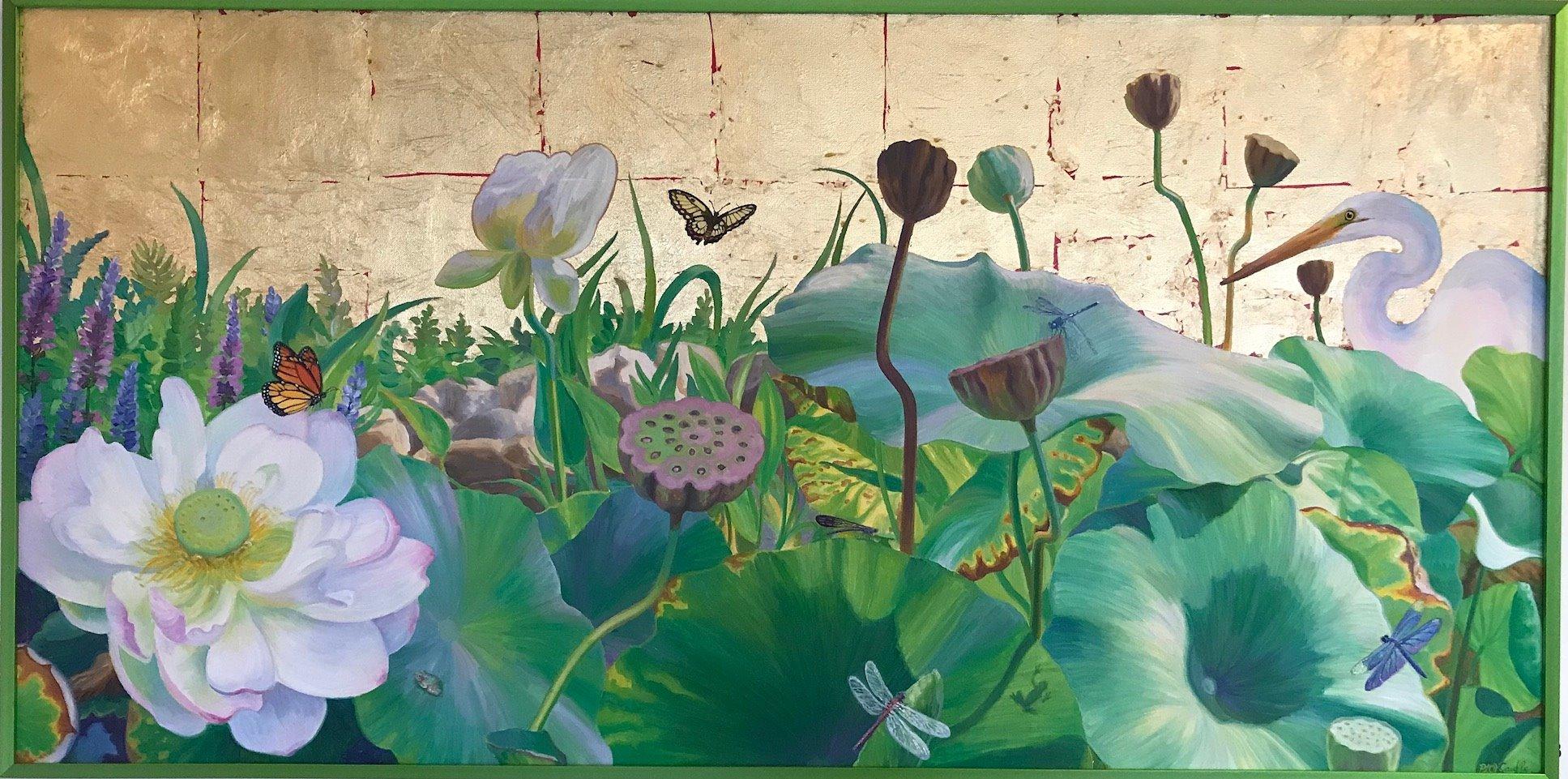 Lotus Pond - Penny Hauffe