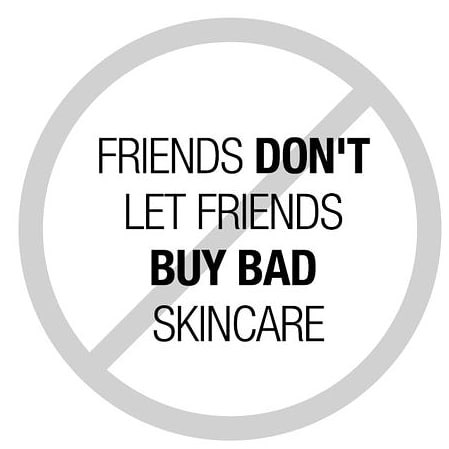 Yes! Make sure to educated your friends and family about the importance of using clean products on the face and body!