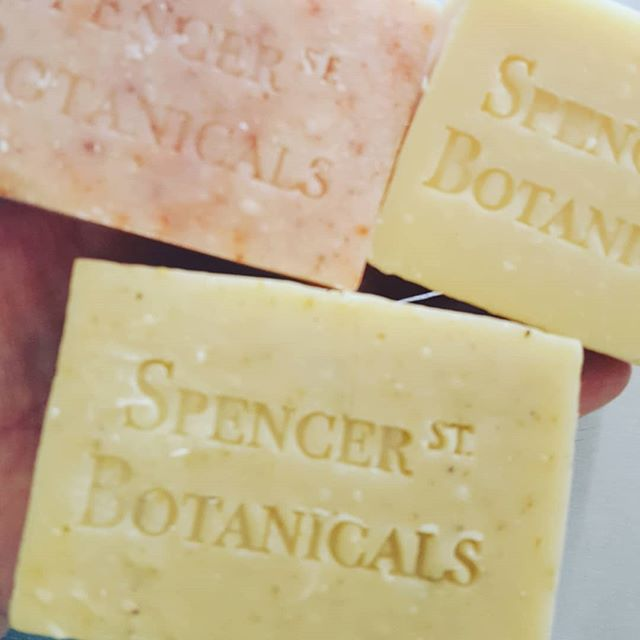 Lovely soaps...nothing but clean and organic ingredients found here. 👍♥️🌱