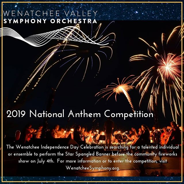 Go to link in bio to learn more about the 2019 National Anthem Competition🎆🎊🎇